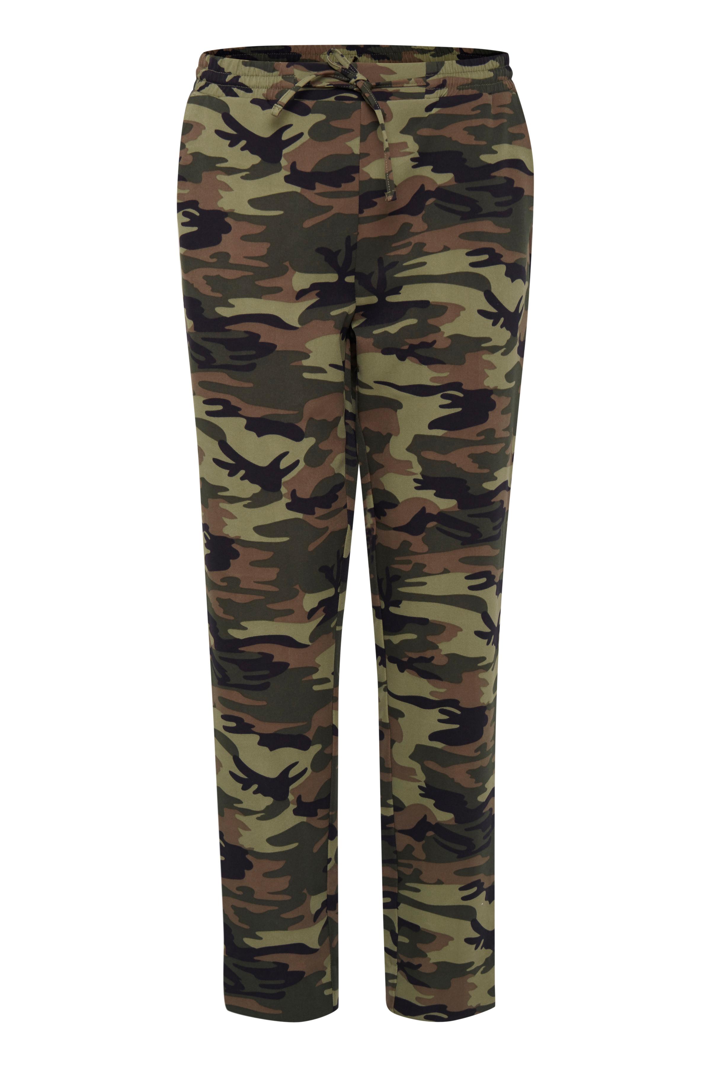 Image of Pulz Jeans Dame Bukser med ankellængde - Amazon Green