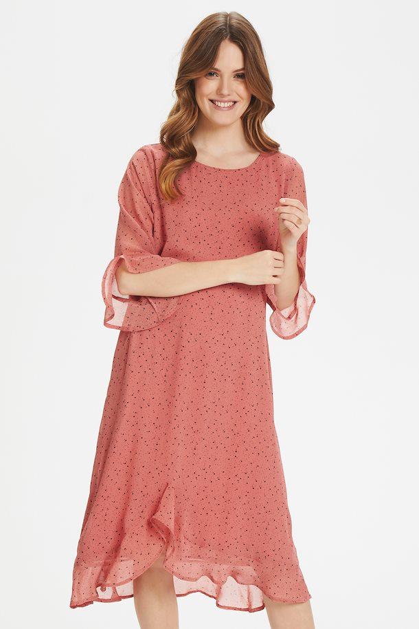 Antikes rosa/schwarz Kleid von Bon'A Parte - Shoppen Sie ...