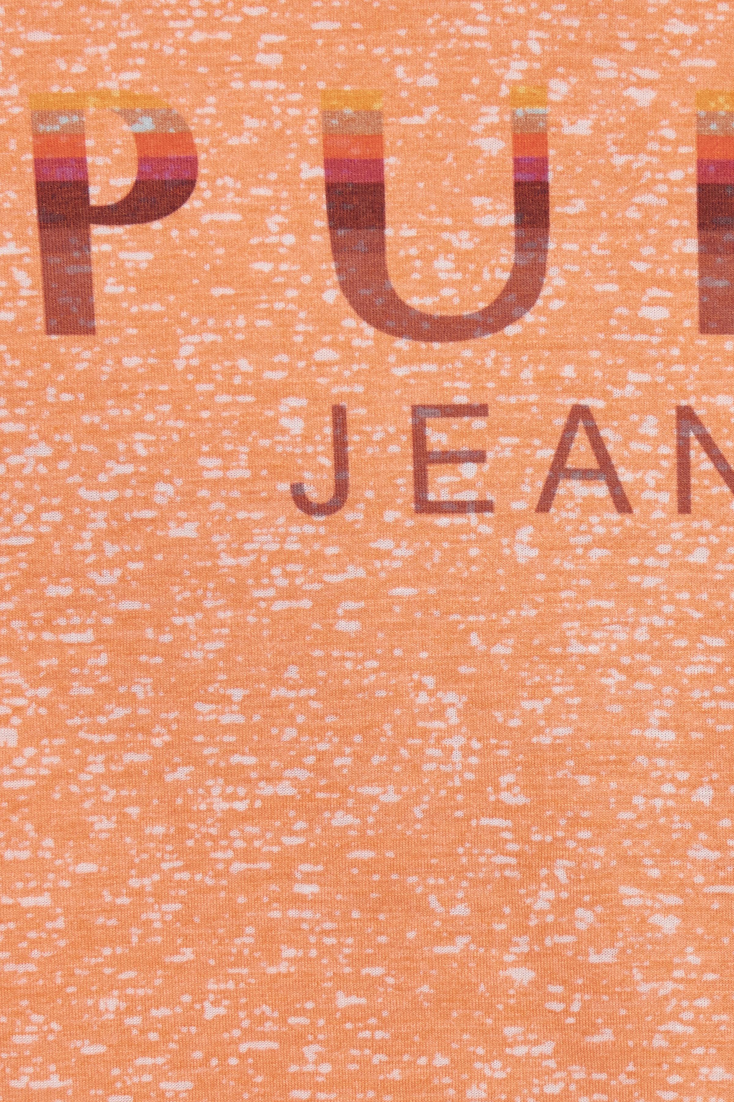 Autumn Sunset T-shirt korte mouw van Pulz Jeans – Door Autumn Sunset T-shirt korte mouw van maat. XS-XXL hier