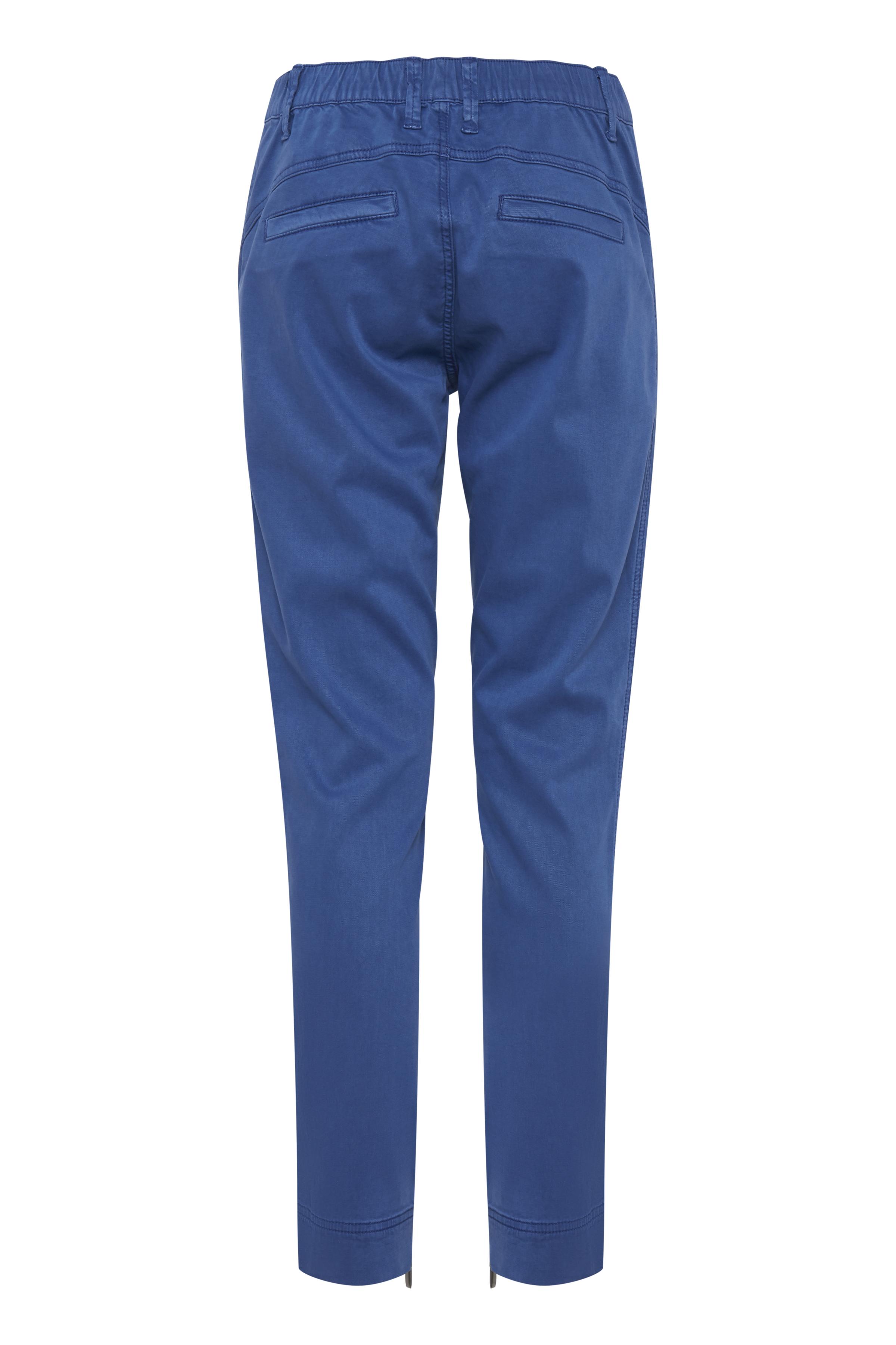 Blå Casual bukser fra Pulz Jeans – Køb Blå Casual bukser fra str. 32-46 her