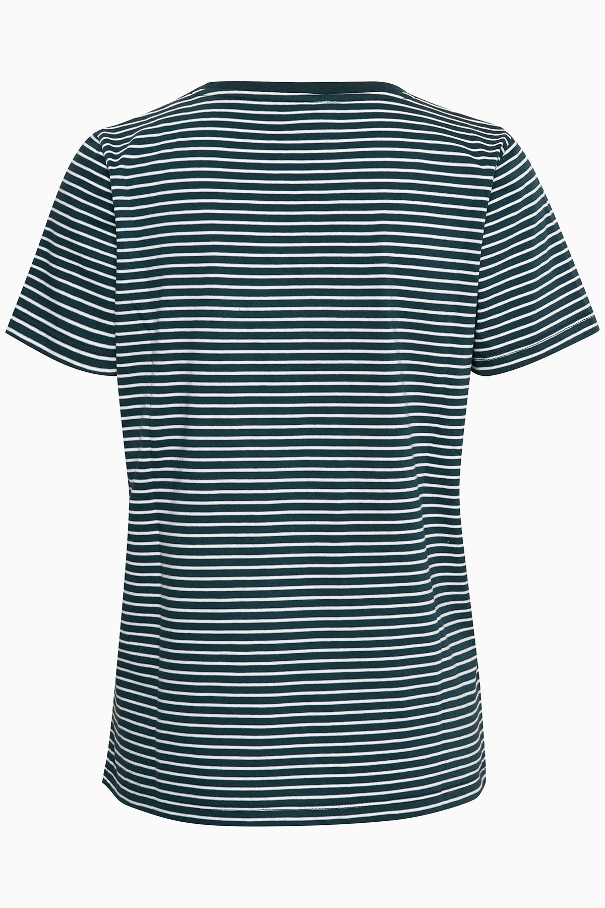 Blå/hvid Kortærmet T-shirt fra Bon'A Parte – Køb Blå/hvid Kortærmet T-shirt fra str. S-2XL her