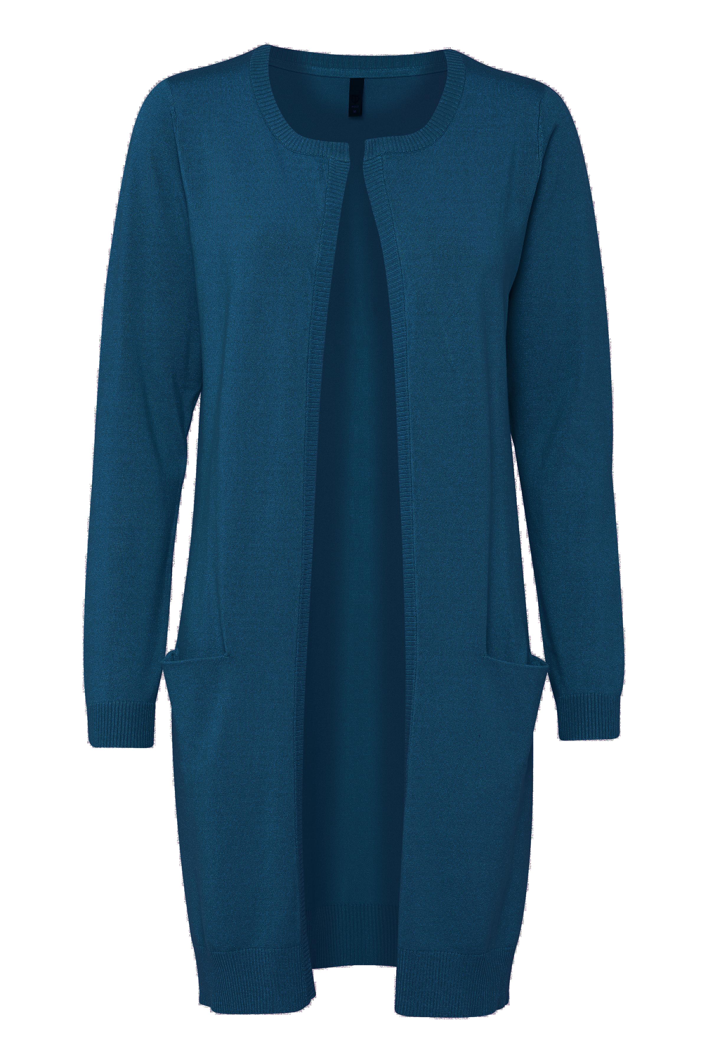 Blå Stickad cardigan från Pulz Jeans – Köp Blå Stickad cardigan från stl. XS-XXL här