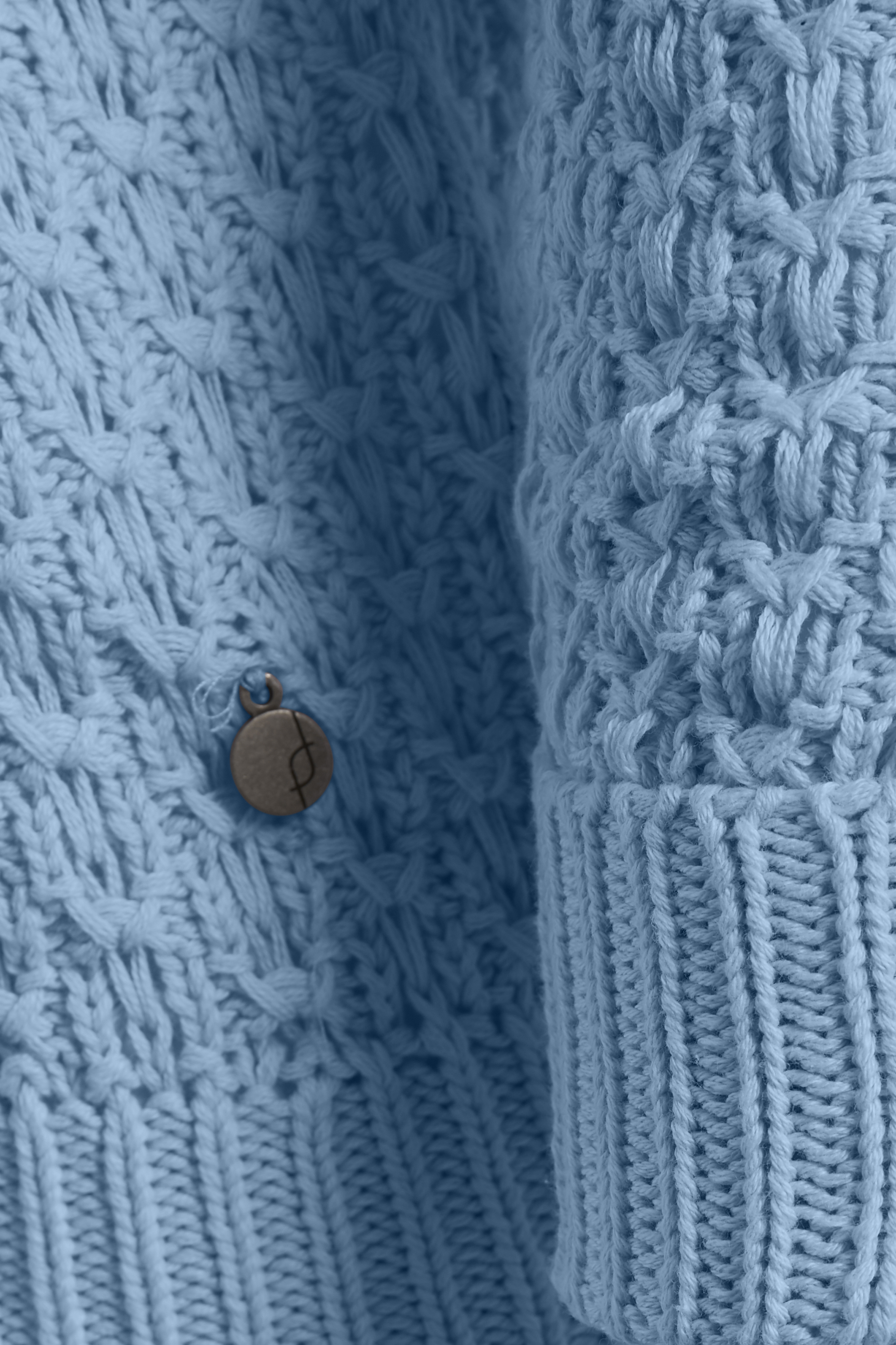 Blå Stickad tröja från Fransa – Köp Blå Stickad tröja från stl. XS-XXL här