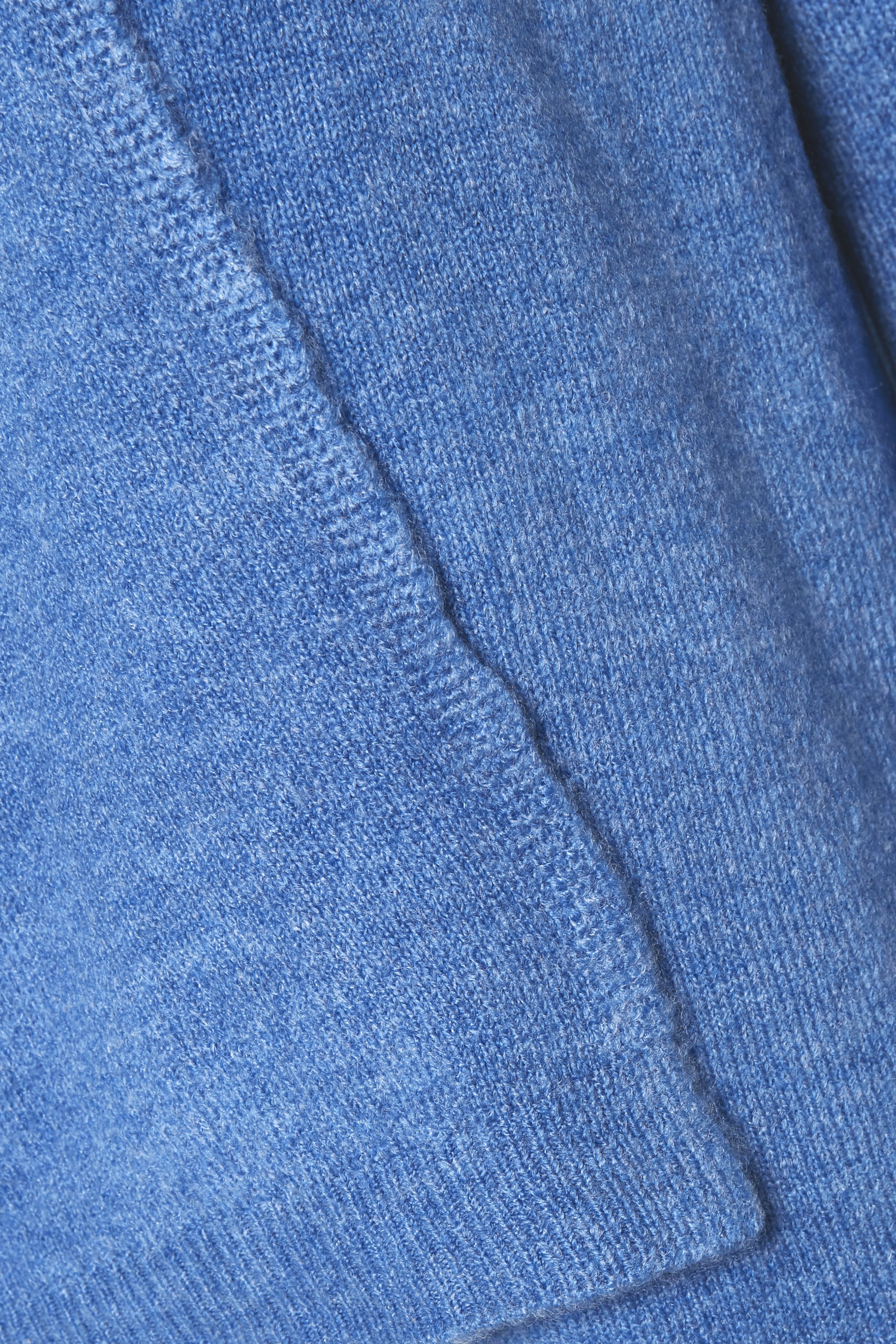 Blåmelerad Stickad cardigan från Dranella – Köp Blåmelerad Stickad cardigan från stl. XS-XXL här