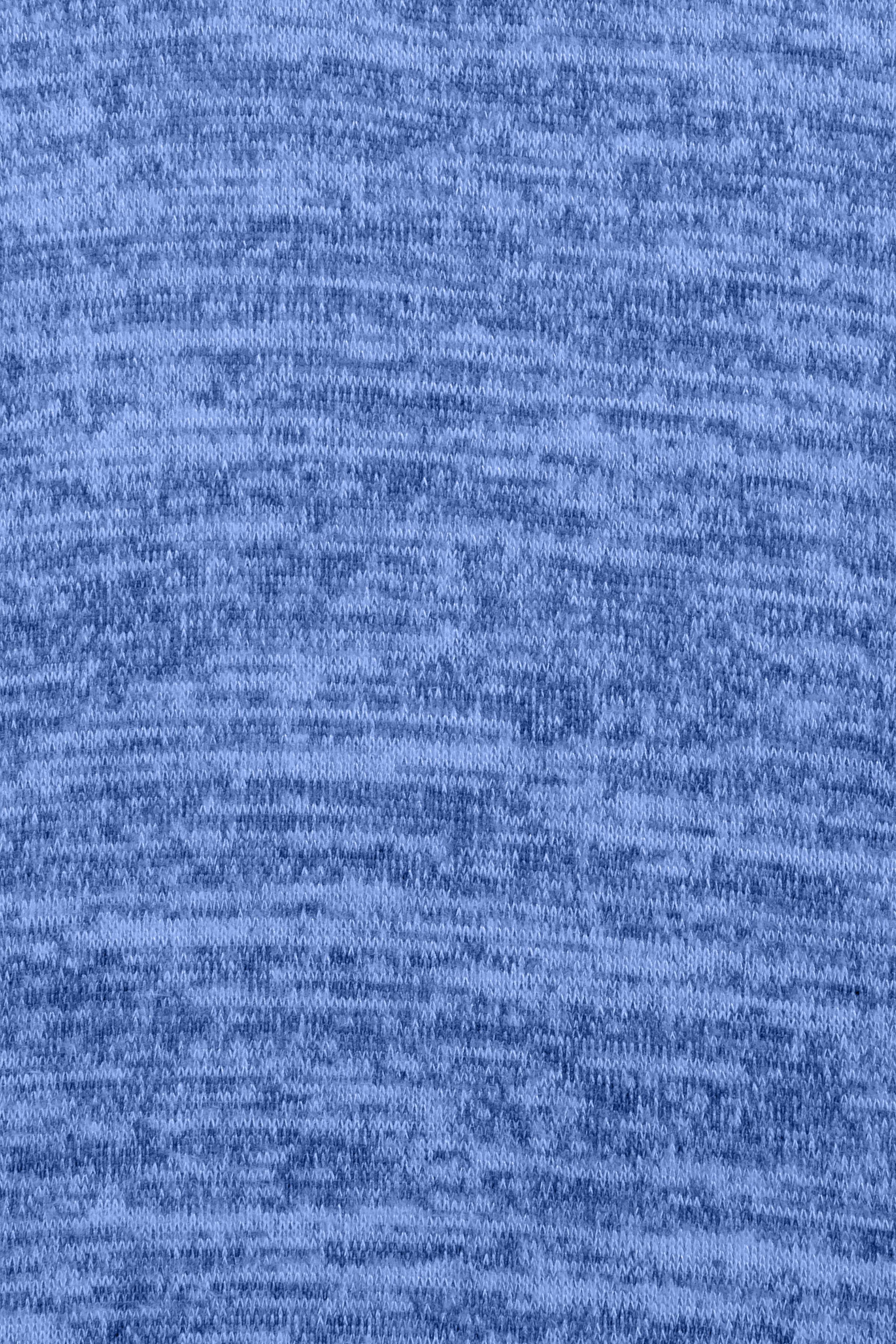 Blåmelerad/vit Långärmad blus  från Fransa – Köp Blåmelerad/vit Långärmad blus  från stl. XS-XXL här