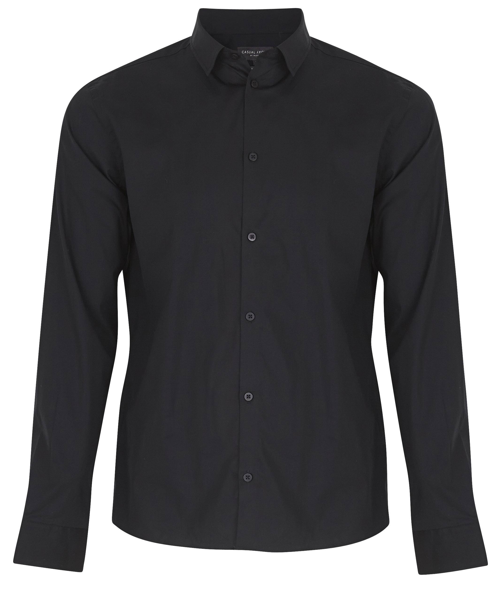 Black Langærmet skjorte fra Casual Friday – Køb Black Langærmet skjorte fra str. XXS-3XL her