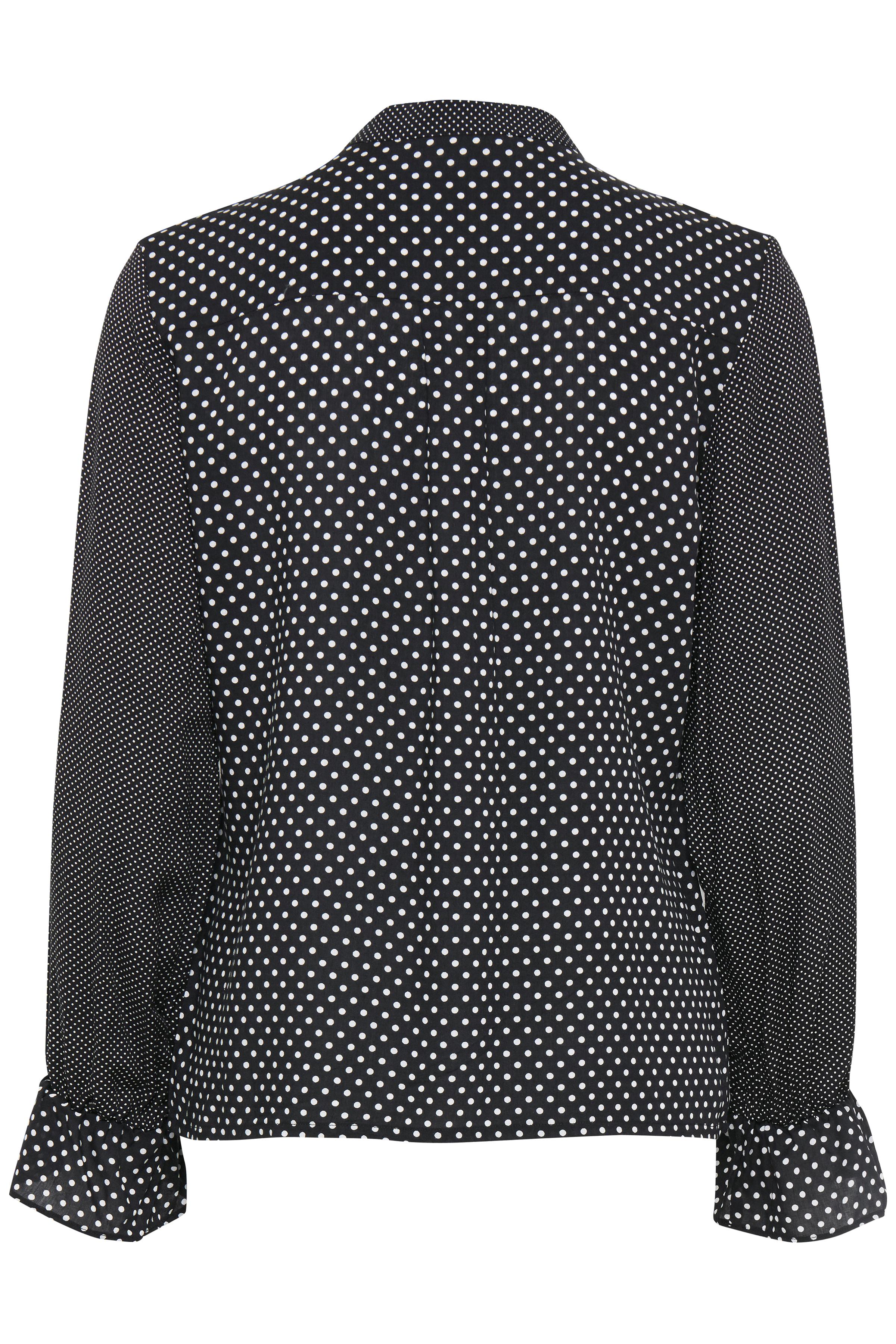 Black mix Langærmet bluse fra Fransa – Køb Black mix Langærmet bluse fra str. XS-XXL her