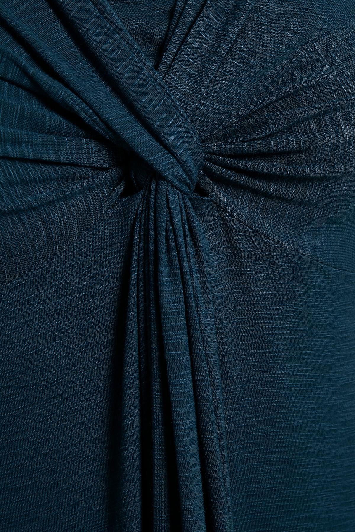 Blauw Jurk van Bon'A Parte – Door Blauw Jurk van maat. S-2XL hier