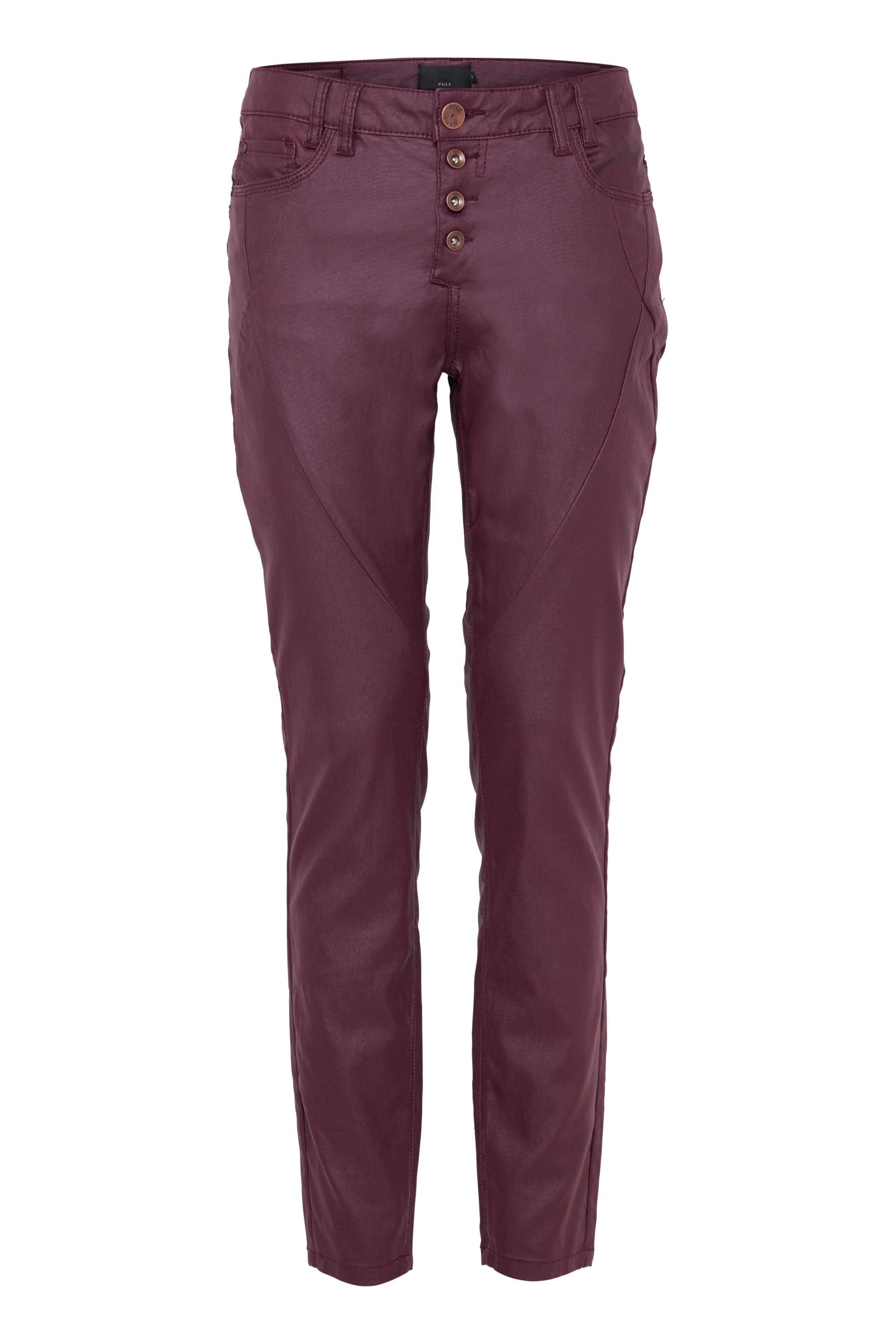 Image of Pulz Jeans Dame Buks - Bordeaux