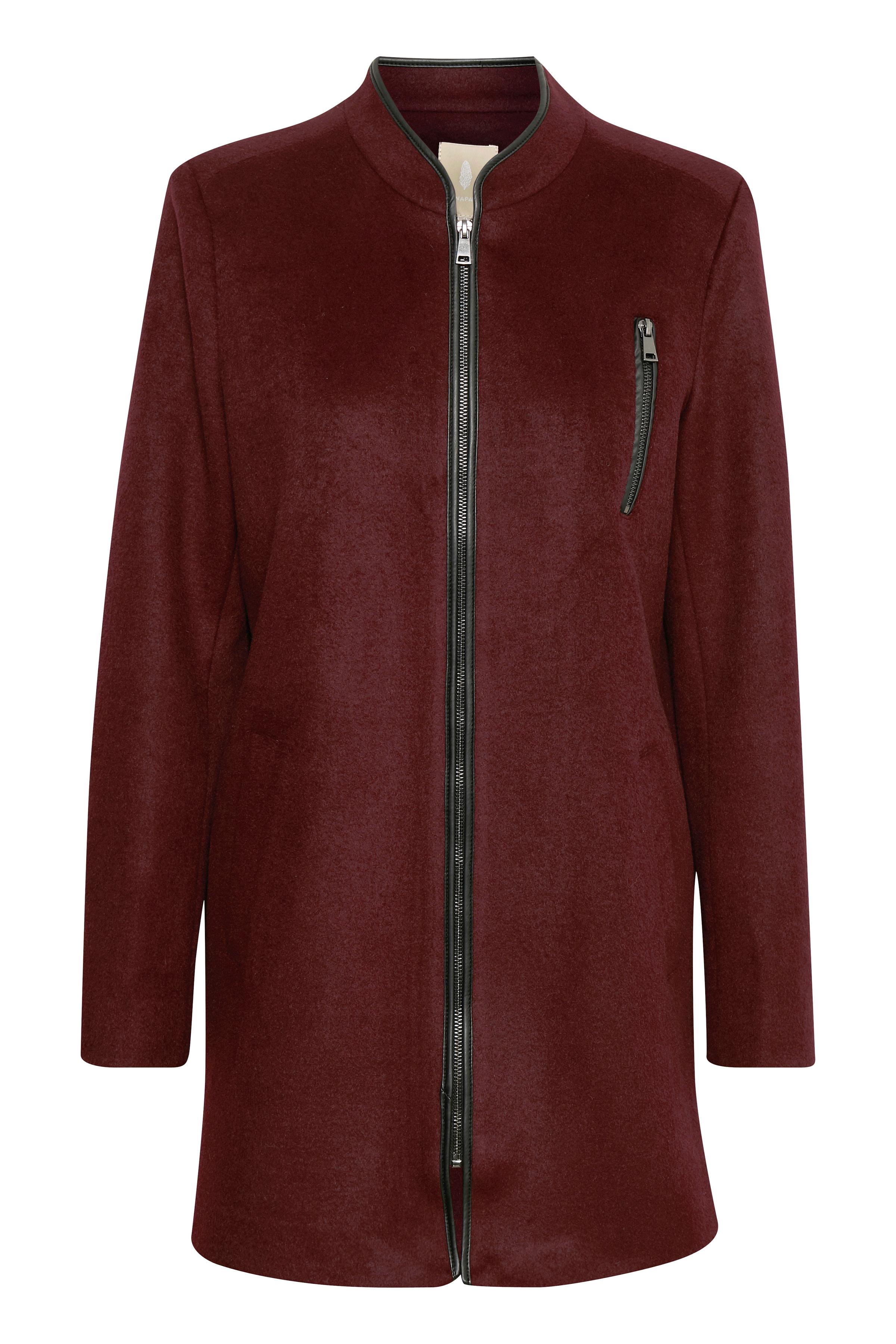 Bordeaux Frakke fra Bon'A Parte – Køb Bordeaux Frakke fra str. S-2XL her