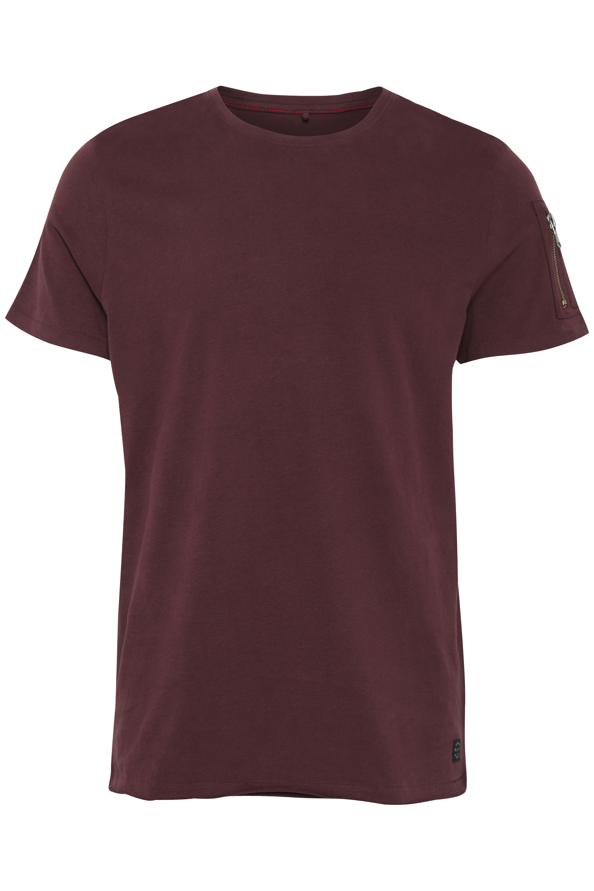 Bordeaux Kortärmad T-shirt från Blend He – Köp Bordeaux Kortärmad T-shirt från stl. S-3XL här