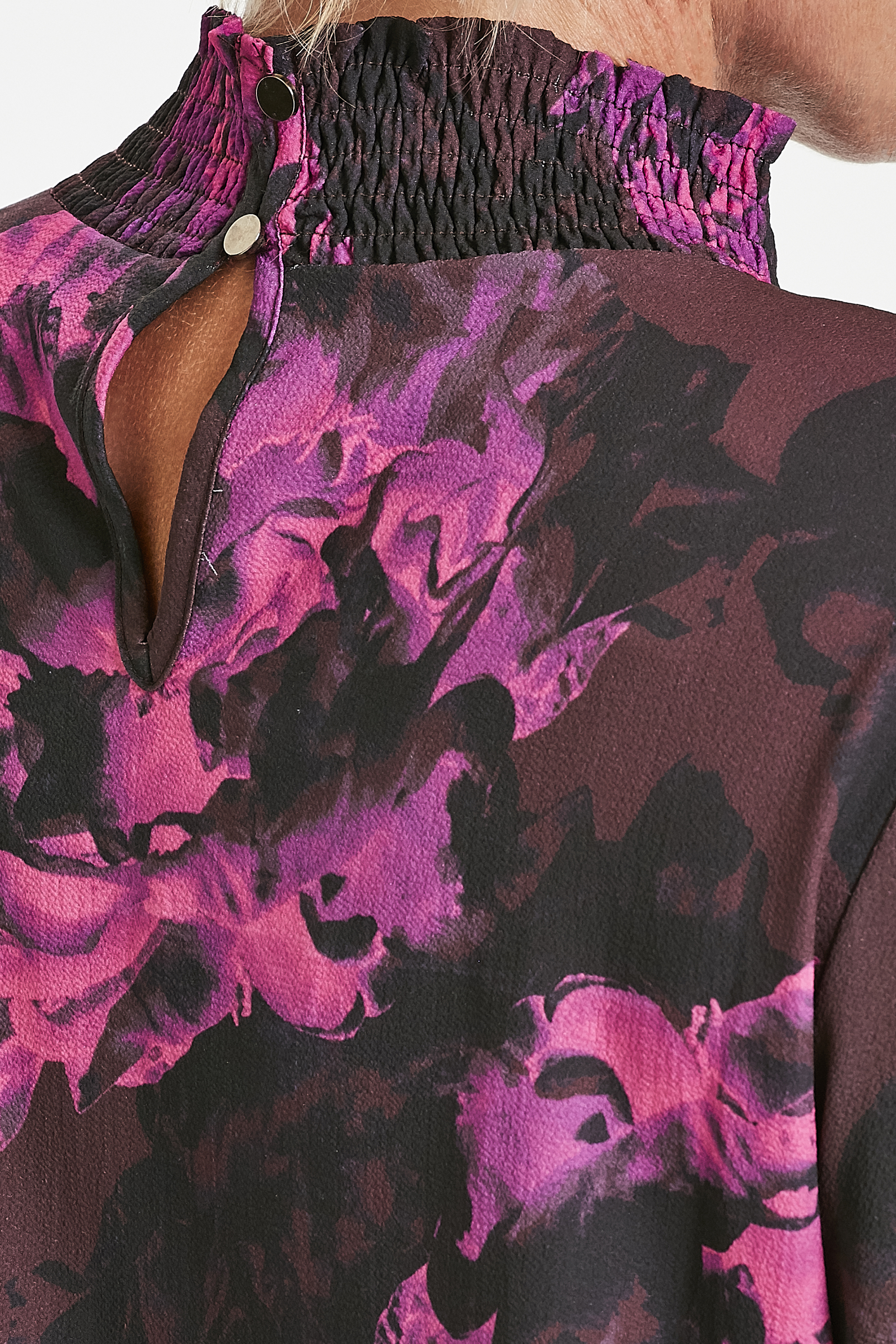 Bordeaux Langærmet bluse fra Kaffe – Køb Bordeaux Langærmet bluse fra str. 34-46 her