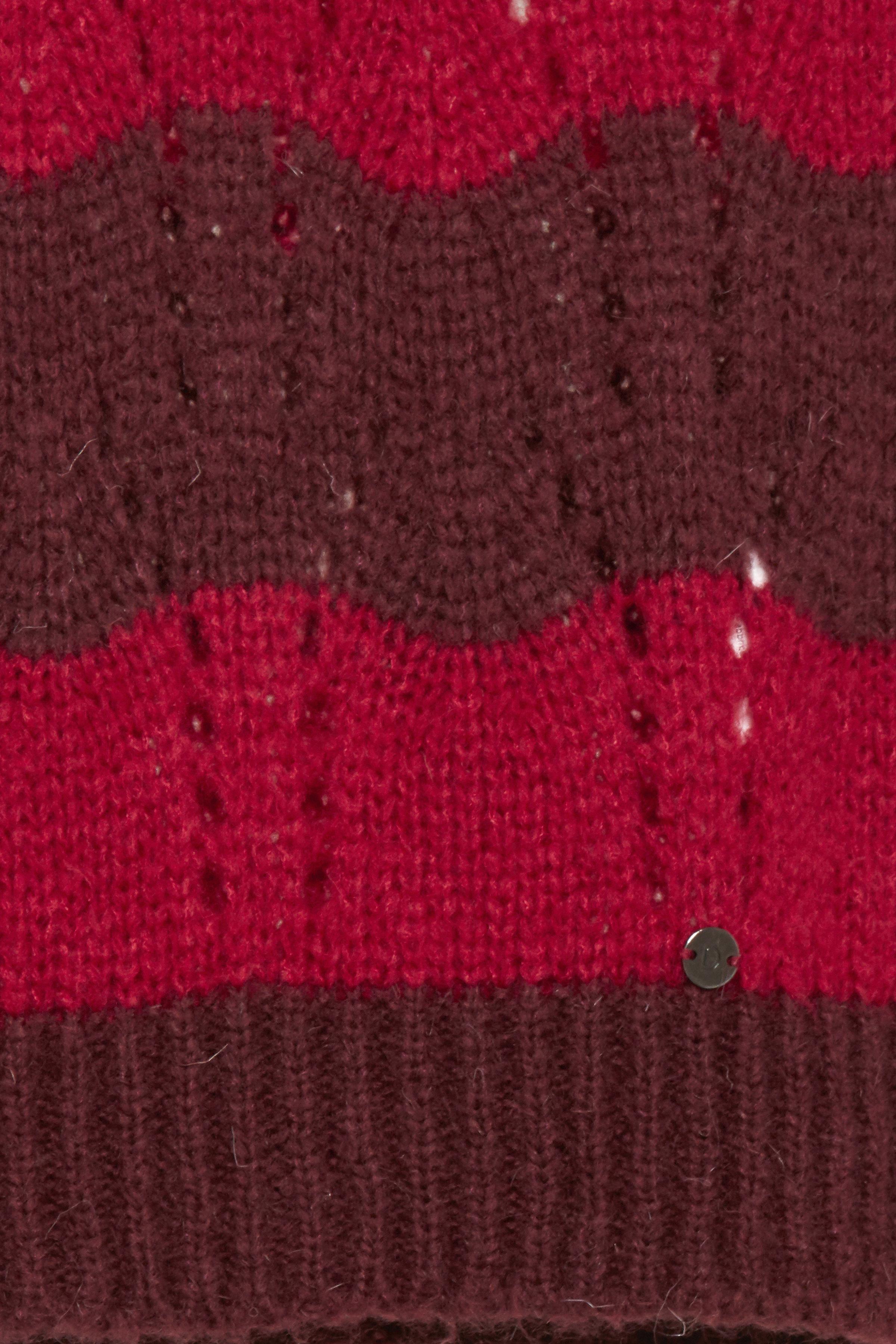Bordeaux/rød Strikpullover fra Dranella – Køb Bordeaux/rød Strikpullover fra str. XS-XXL her