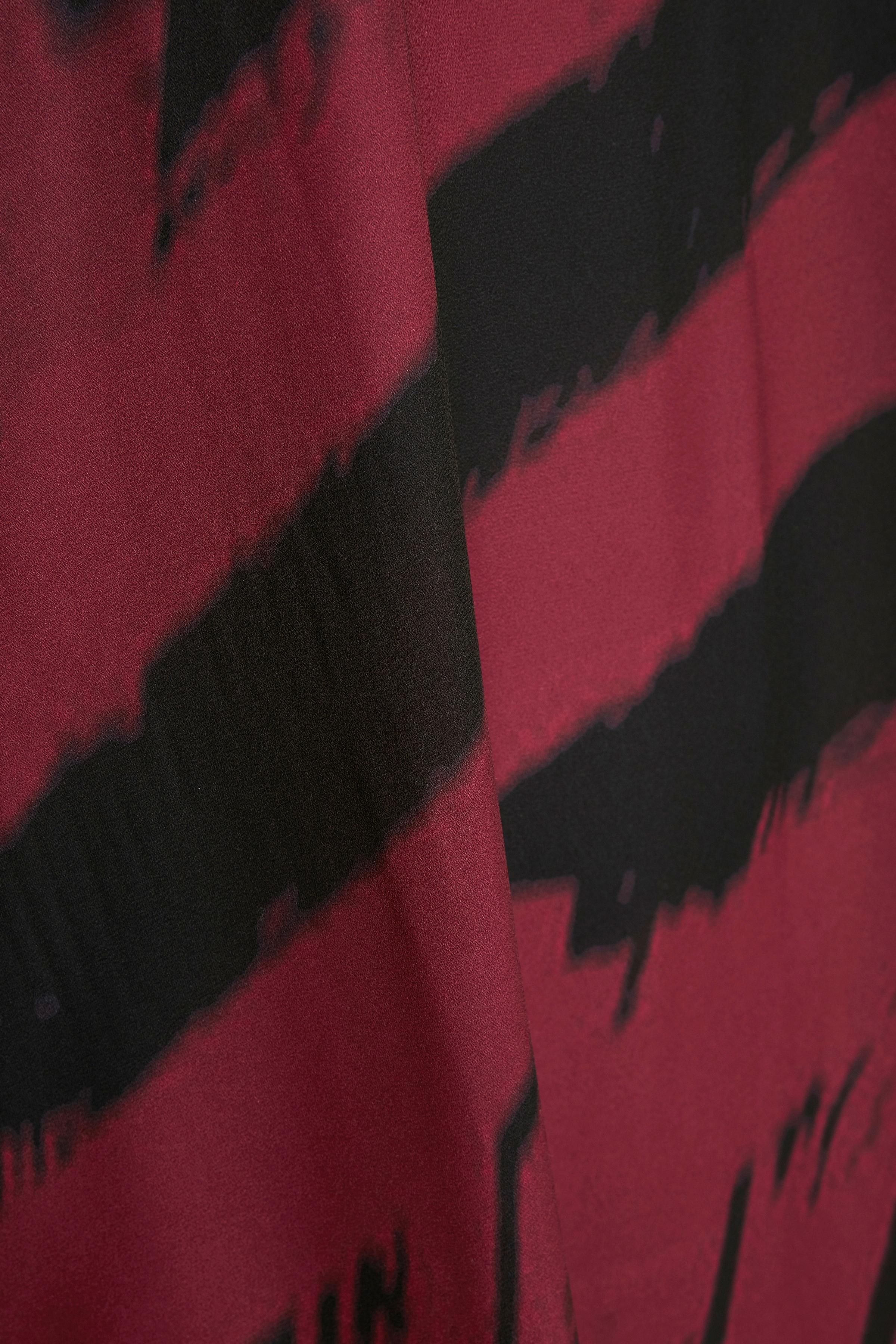 Bordeaux/svart Tunika från Bon'A Parte – Köp Bordeaux/svart Tunika från stl. S-2XL här