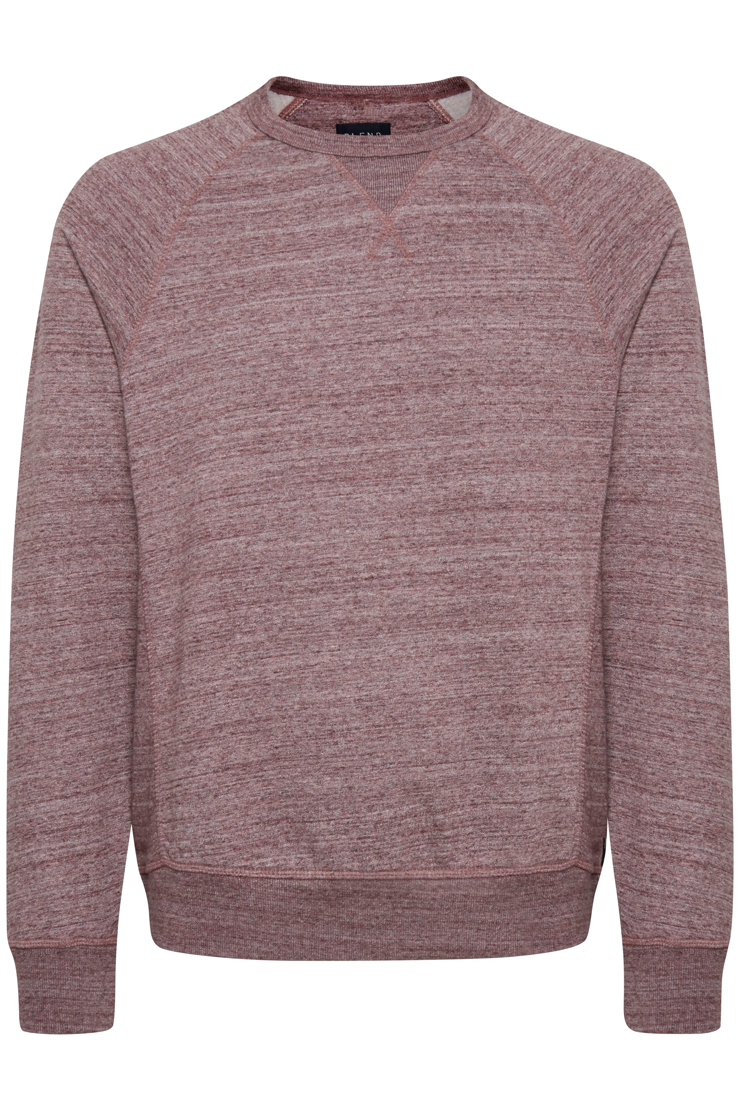 Bordeaux Sweatshirt fra Blend He – Køb Bordeaux Sweatshirt fra str. S-3XL her