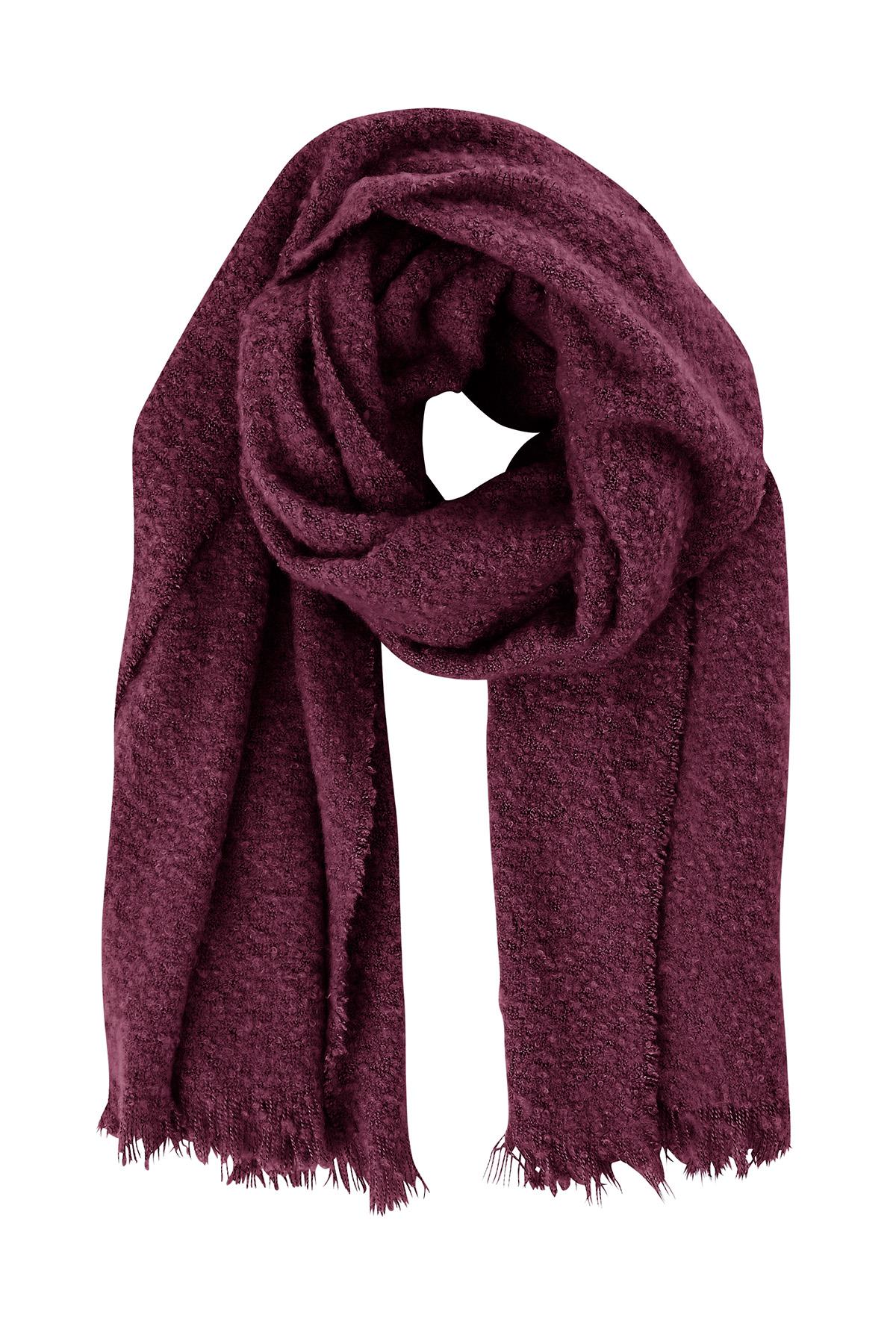 Image of   Ichi - accessories Dame Tørklæde - Bordeaux