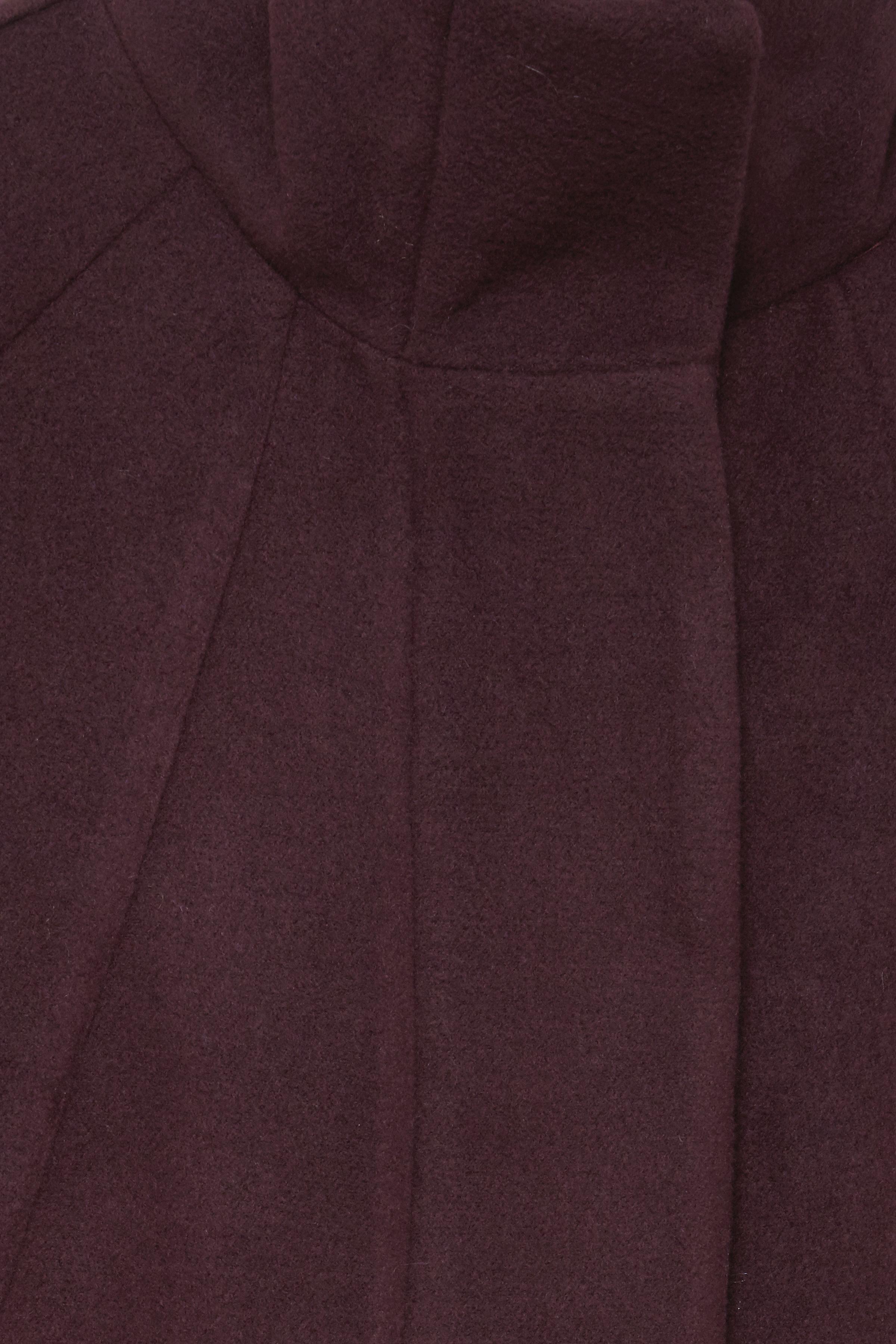 Bordeauxmeleret Frakke fra b.young – Køb Bordeauxmeleret Frakke fra str. 34-46 her