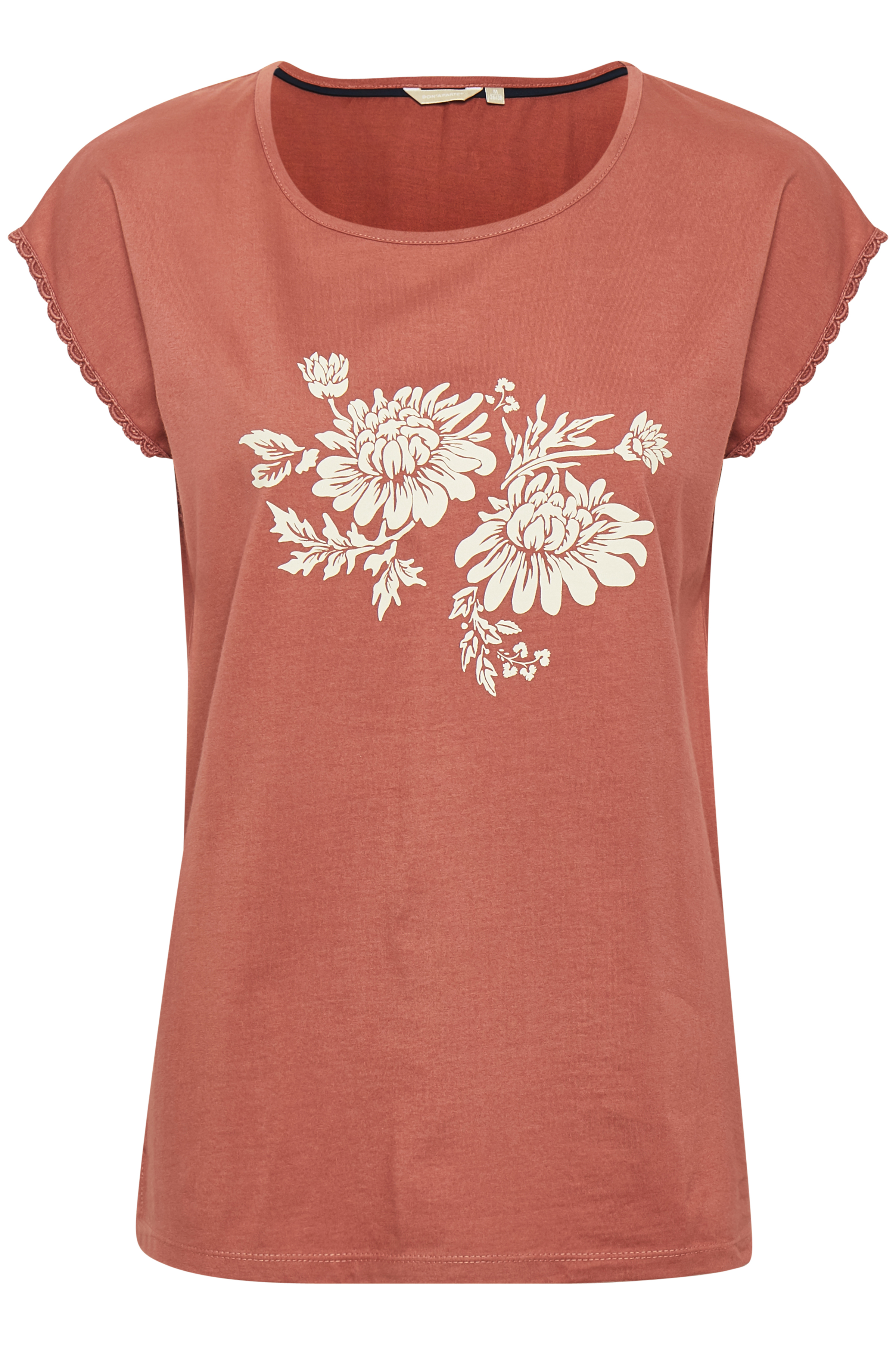 Image of BonA Parte Dame T-shirt - Brændt rød