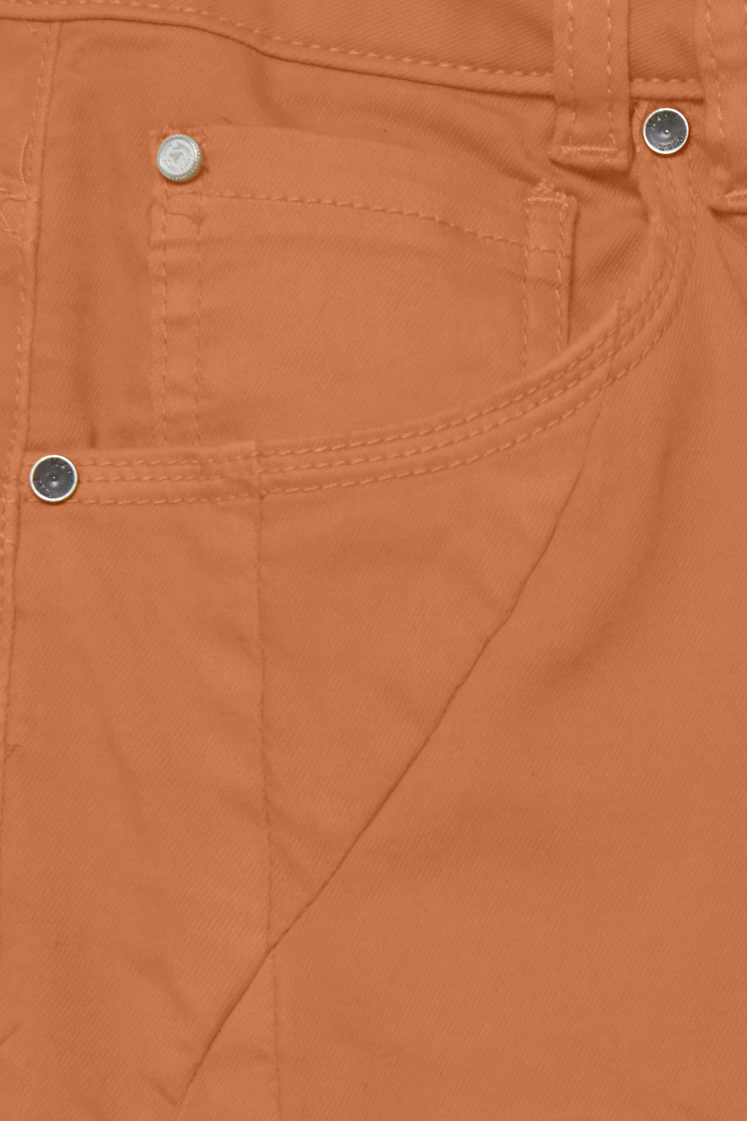 Bränd orange Byxor från Pulz Jeans – Köp Bränd orange Byxor från stl. 32-46 här