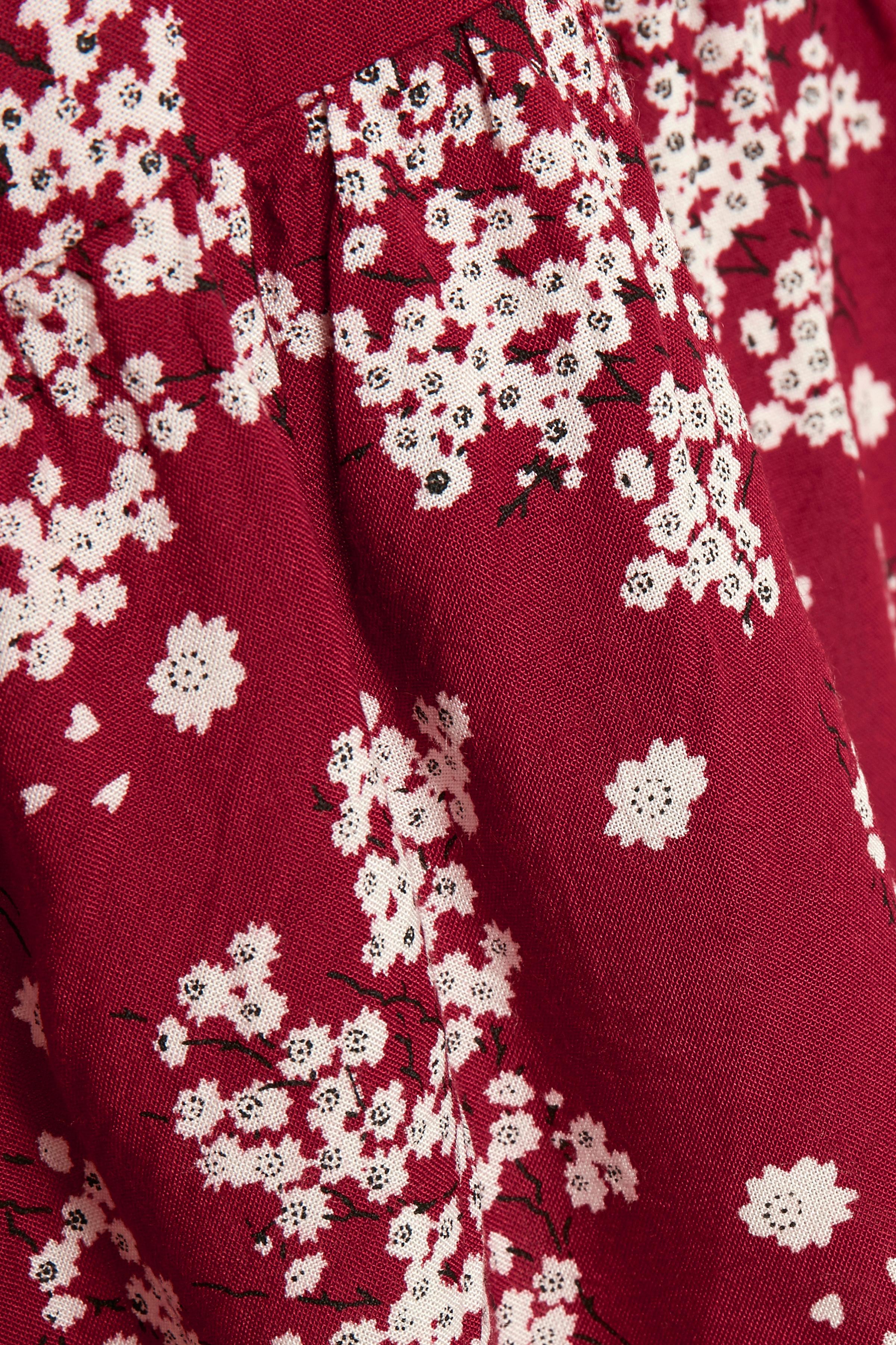 Bränd röd/off-white Blus från Kaffe – Köp Bränd röd/off-white Blus från stl. 34-46 här