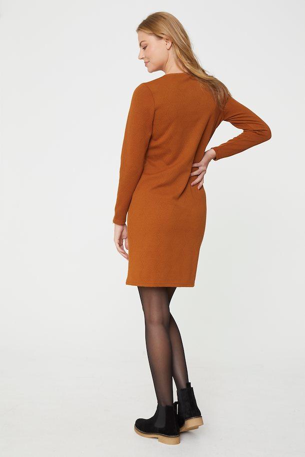 Braun Jerseykleid von Fransa - Shoppen Sie Braun ...