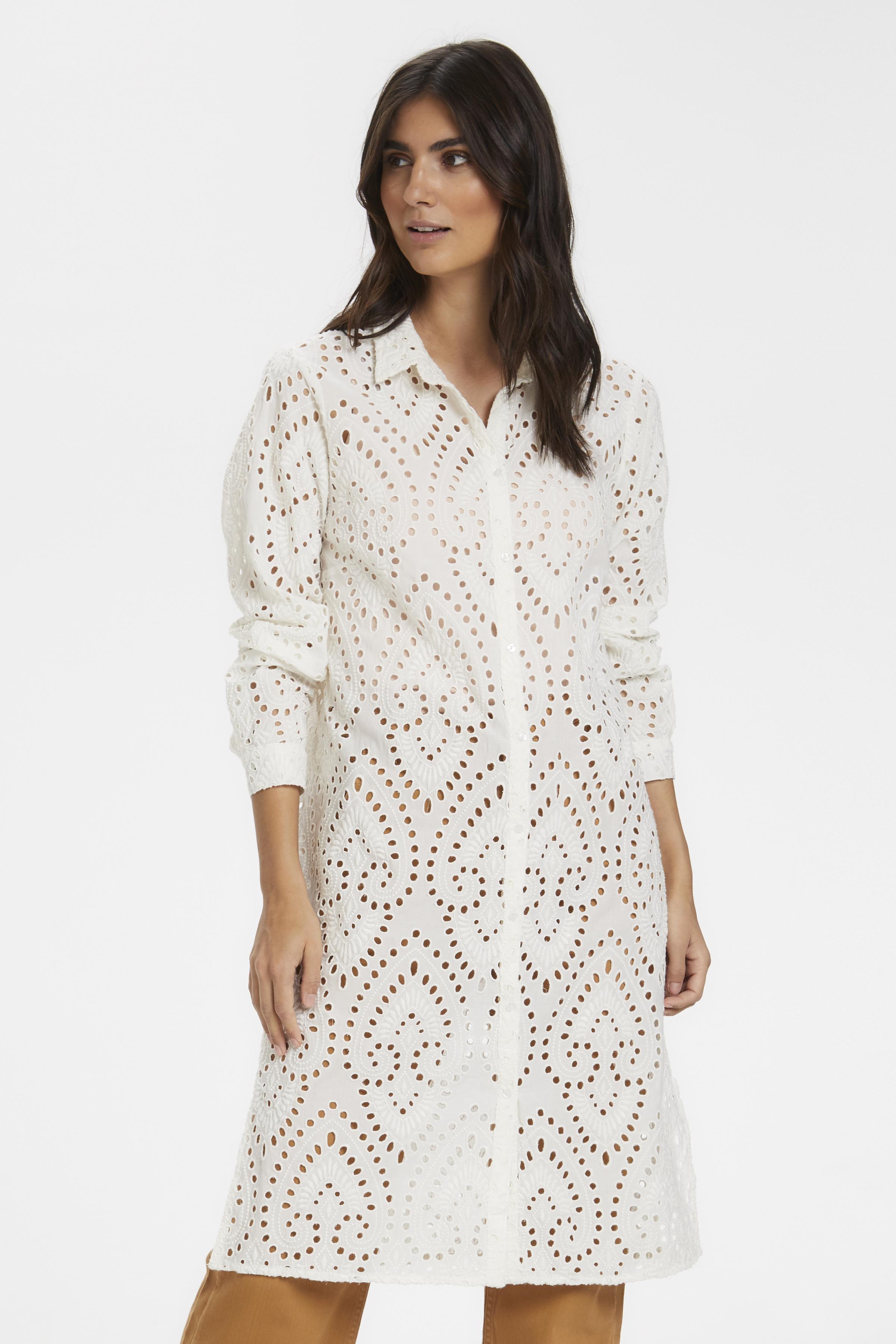 Part Two Dame Tunika - Bright White