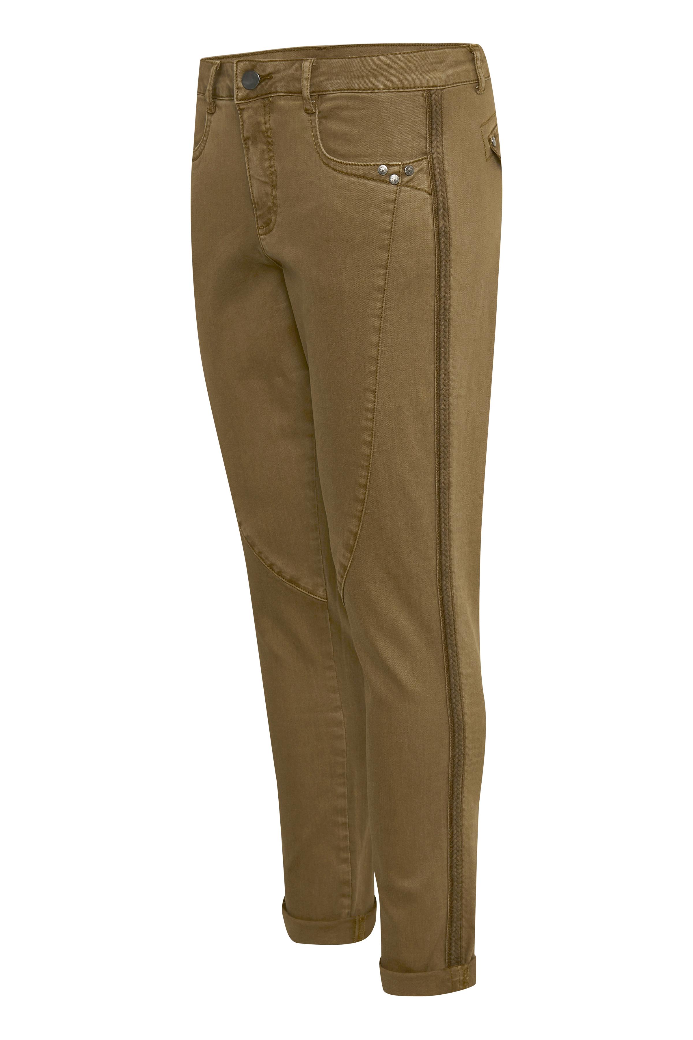 Brun Casual bukser fra Bon'A Parte – Køb Brun Casual bukser fra str. 36-48 her