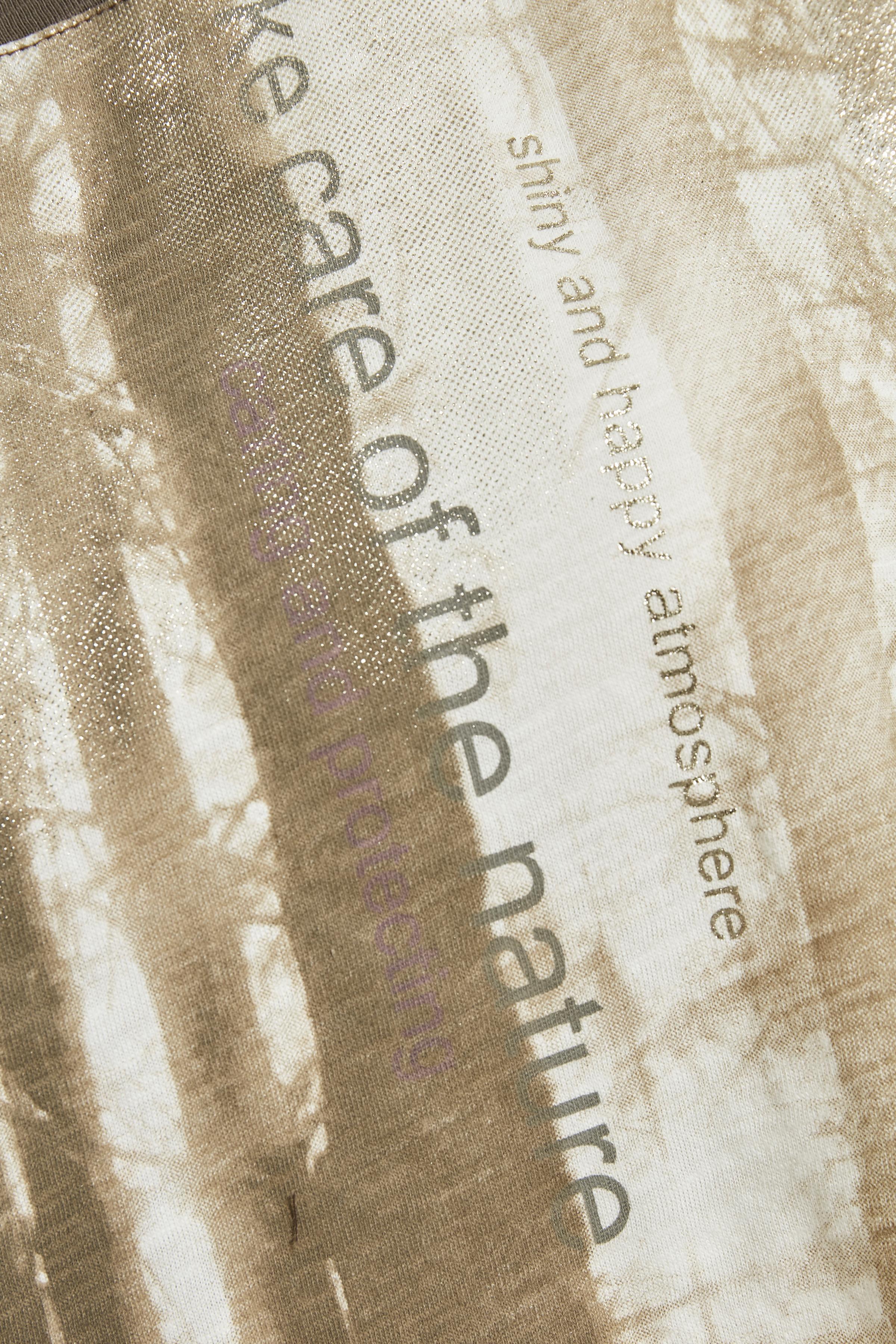 Brun/sand Kortærmet T-shirt fra Cream – Køb Brun/sand Kortærmet T-shirt fra str. XS-XXL her