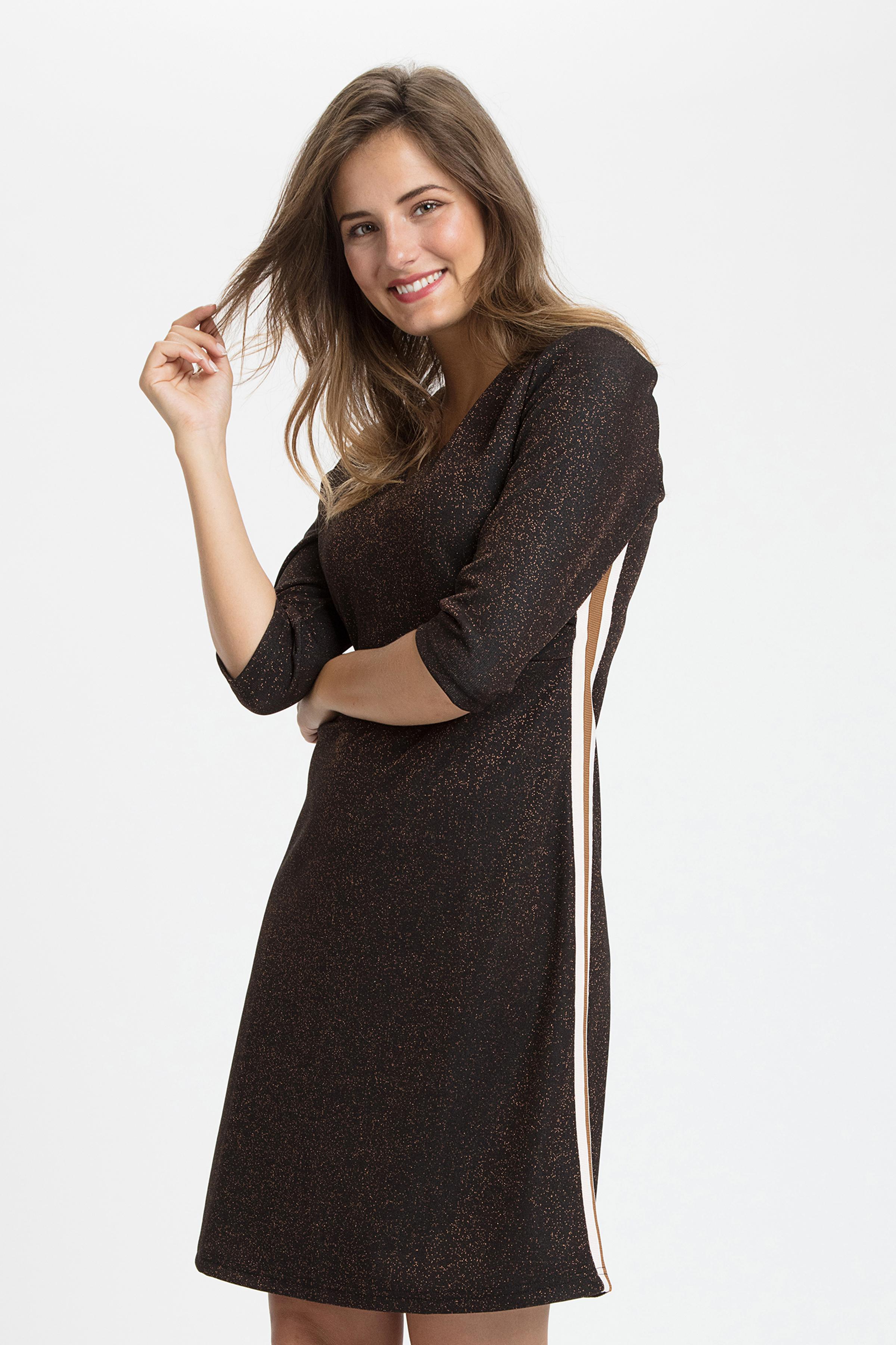 Brun Strickad klänning från Cream – Köp Brun Strickad klänning från stl. XS-XXL här