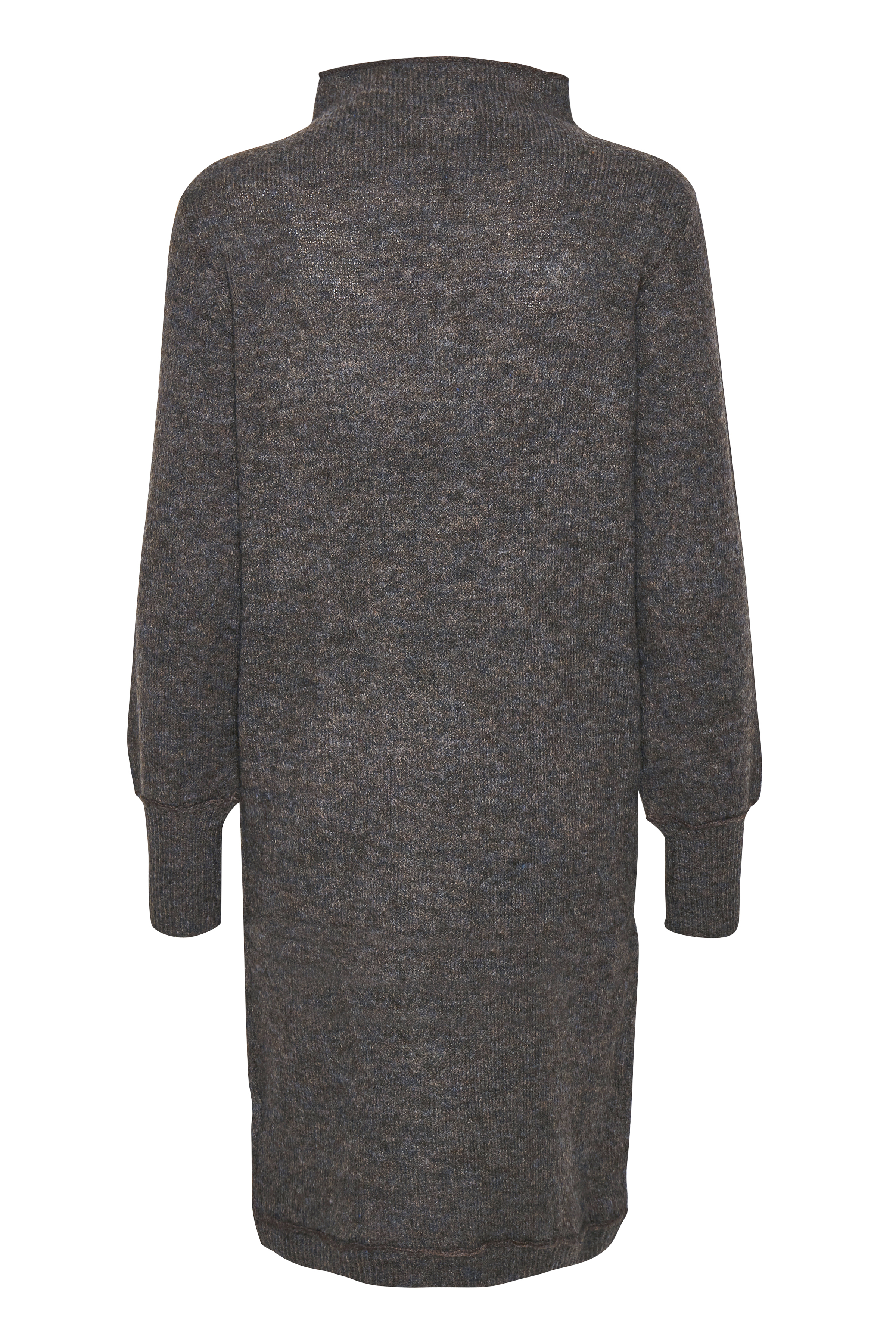 Brunmelerad Strickad klänning från Fransa – Köp Brunmelerad Strickad klänning från stl. XS-XXL här
