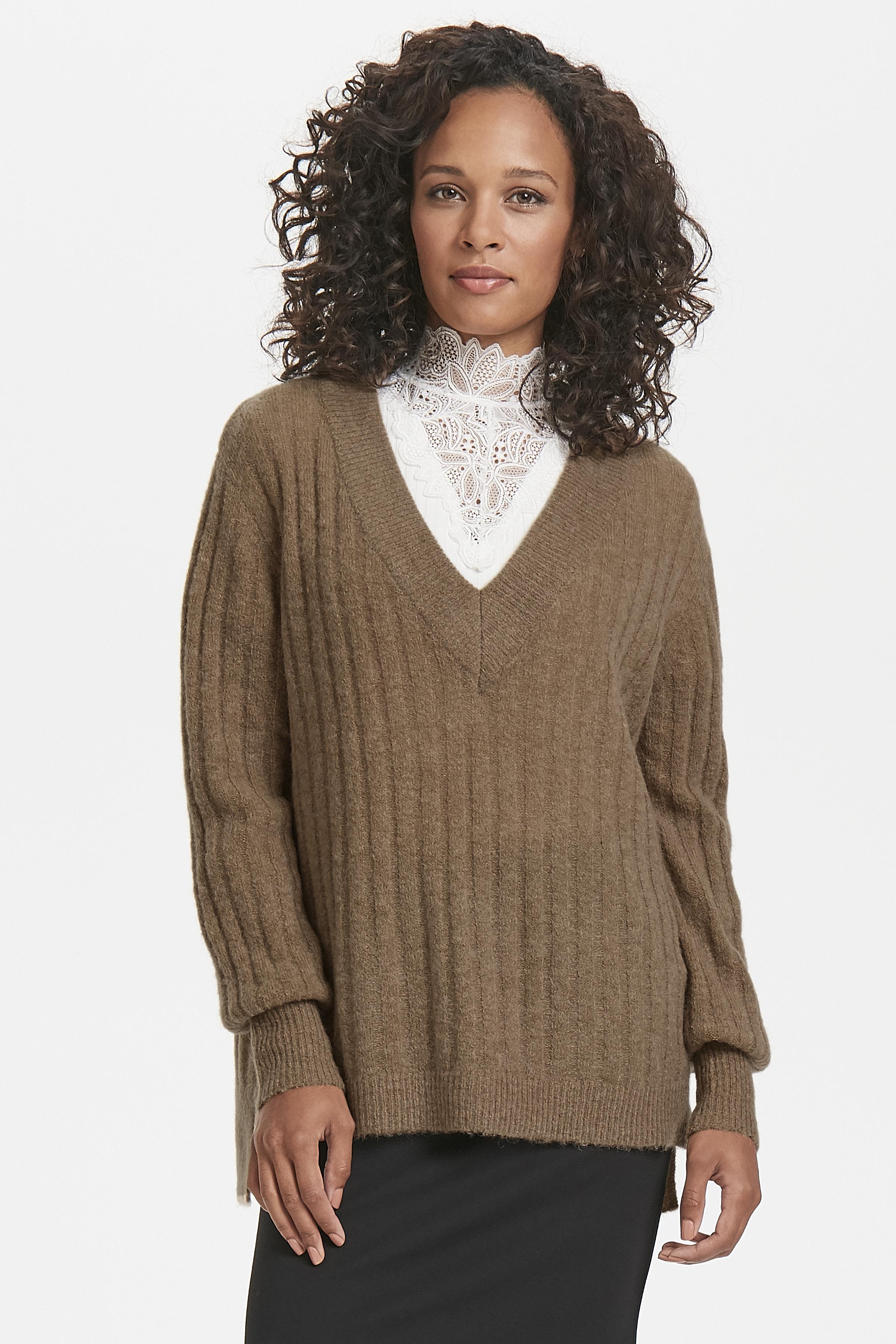 Camel Gebreide trui van Kaffe – Door Camel Gebreide trui van maat. XS-XXL hier