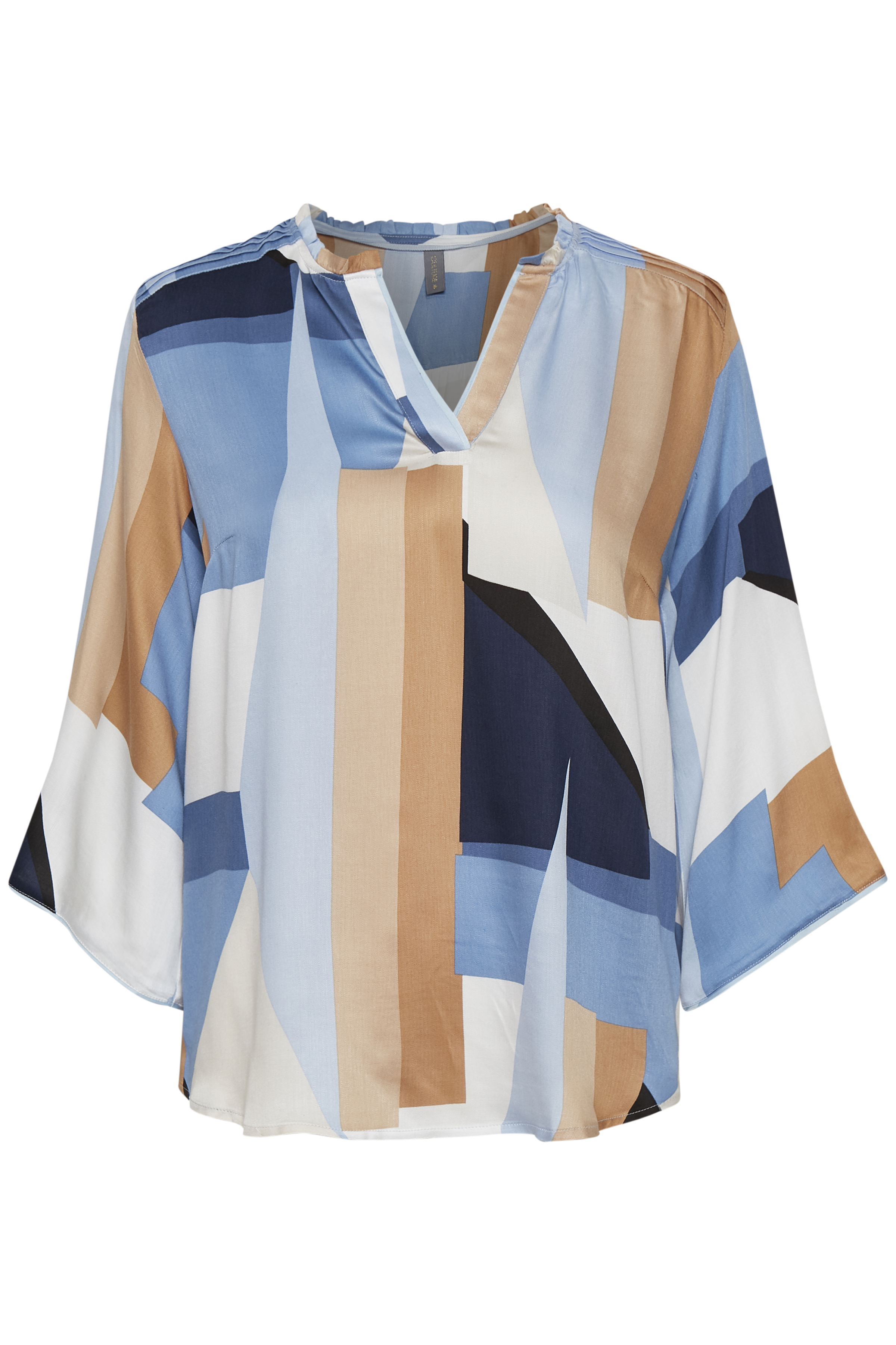 Image of Culture Dame Bluse - Cashmere Blue