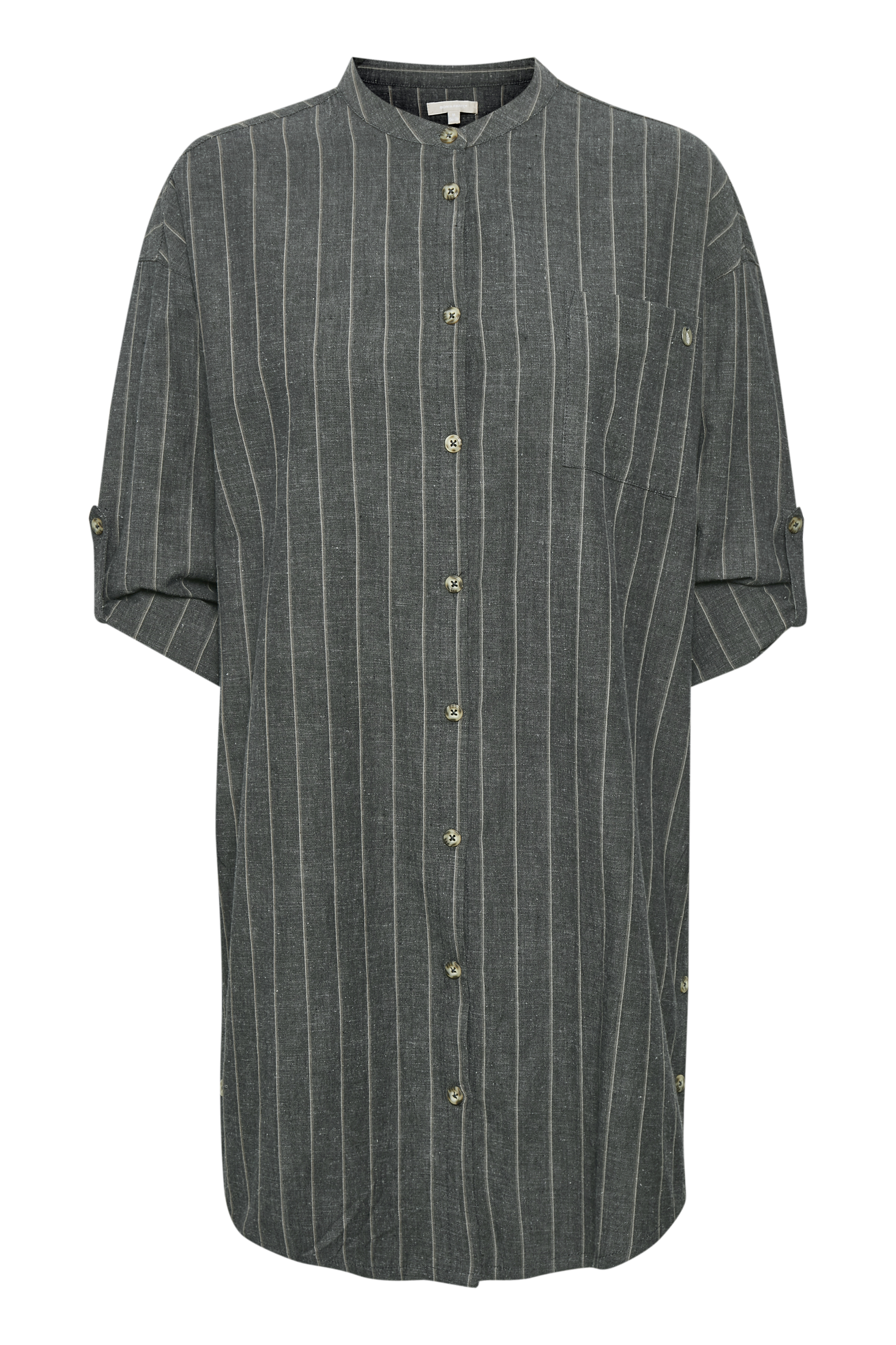 Charcoal/grau Tunika von Bon'A Parte – Shoppen Sie Charcoal/grau Tunika ab Gr. S-2XL hier