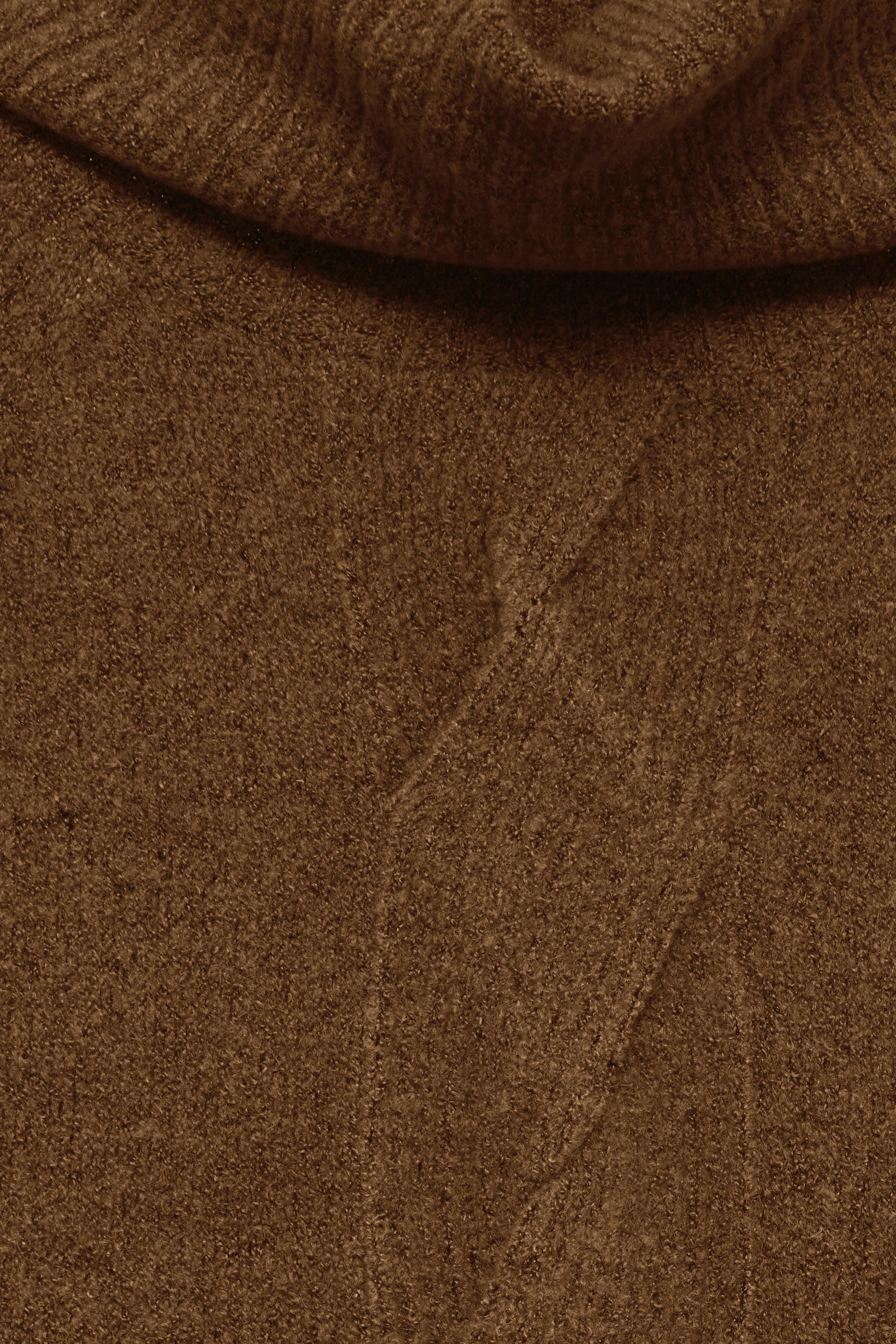 Cognac Stickad pullover från b.young – Köp Cognac Stickad pullover från stl. XS-XXL här