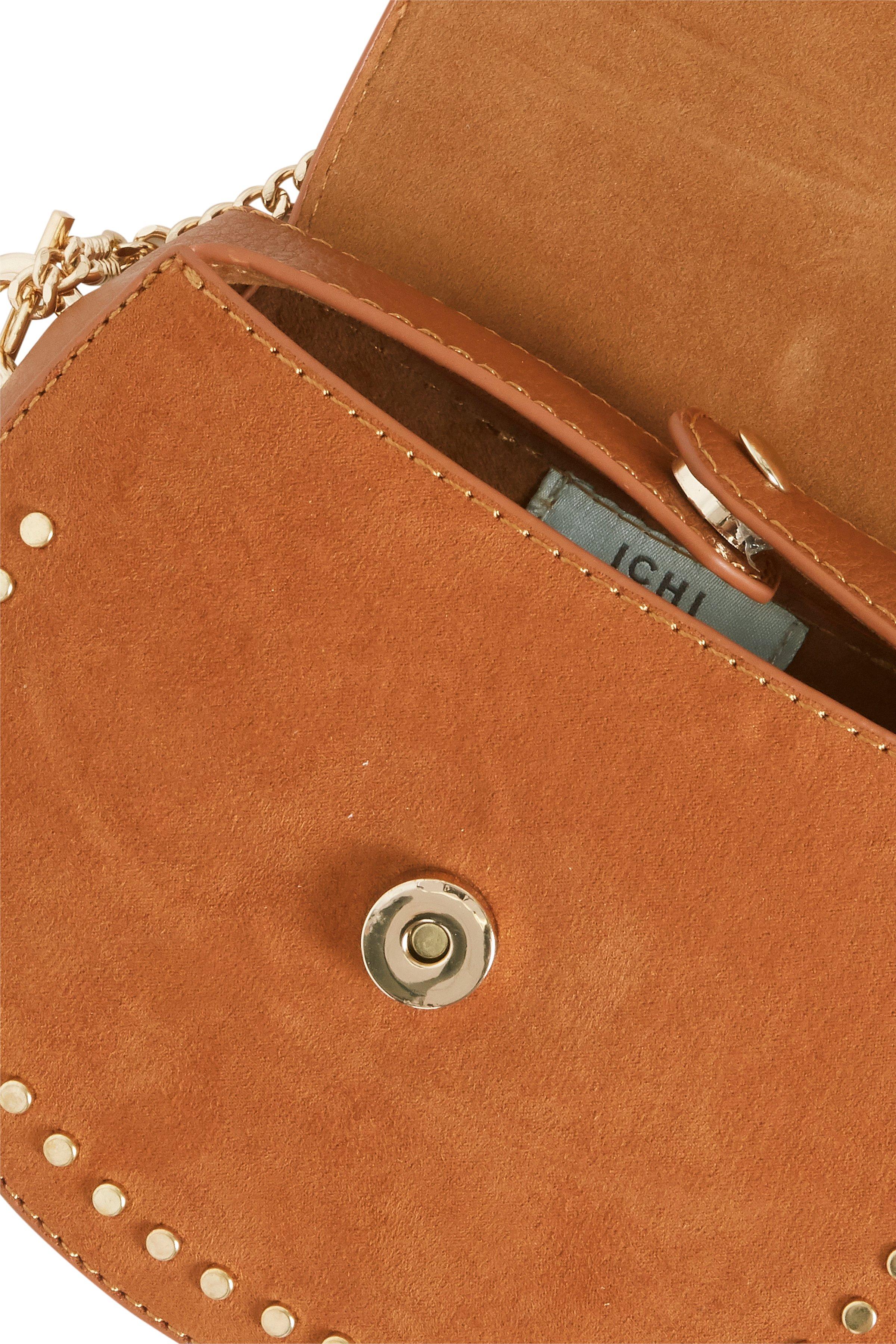 Cognac Taske fra Ichi - accessories – Køb Cognac Taske fra str. ONE her