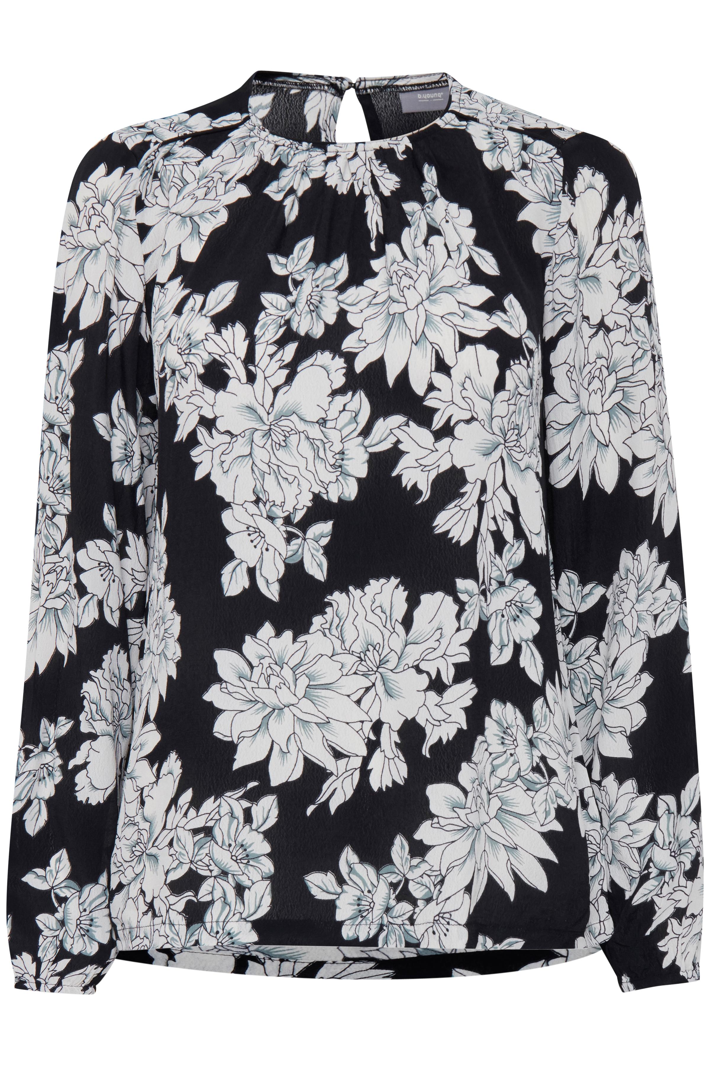 COMBI 2 Langærmet bluse fra b.young – Køb COMBI 2 Langærmet bluse fra str. 34-46 her