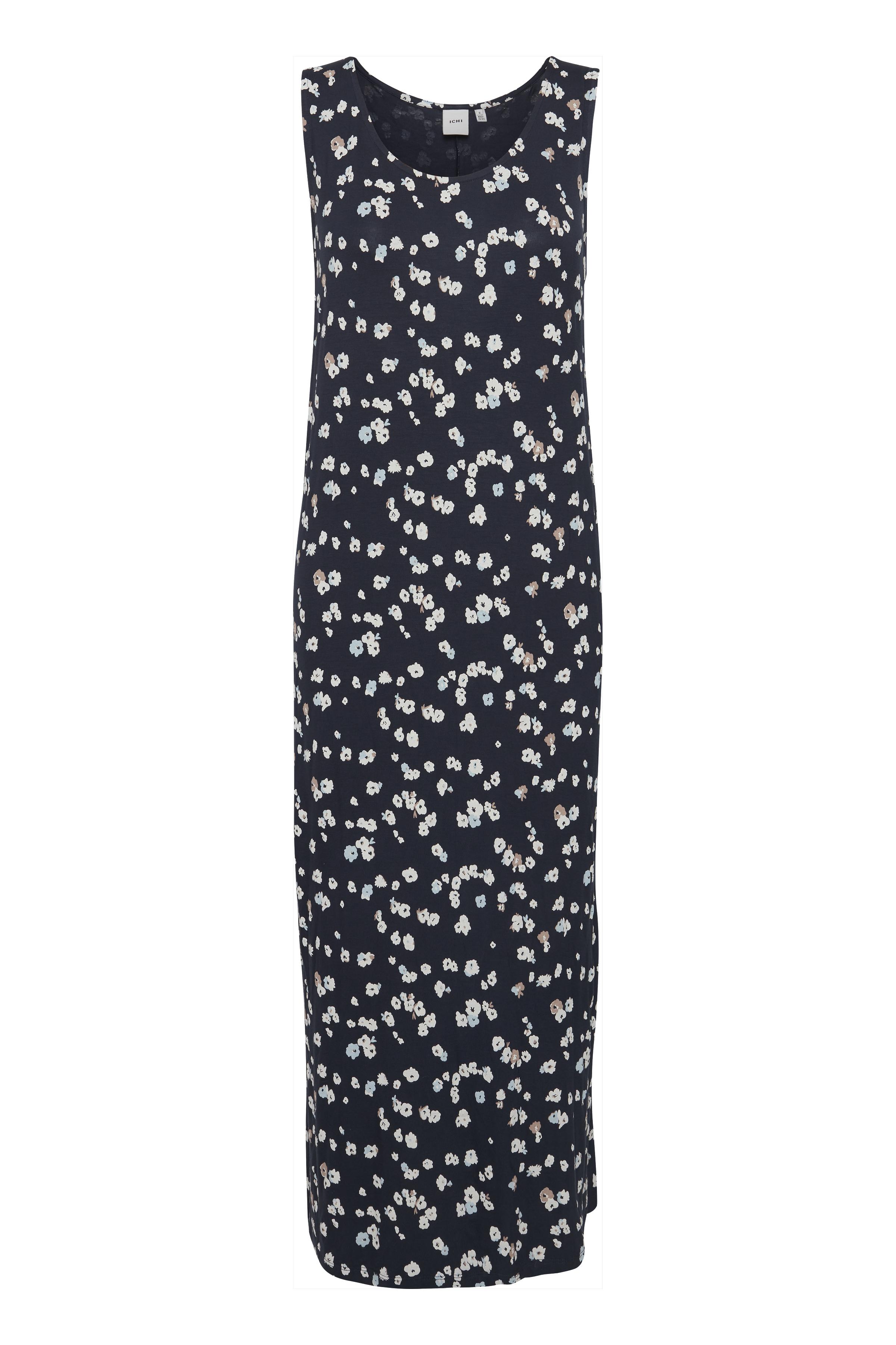 Ichi Dame Jersey jurk - Cool Blue
