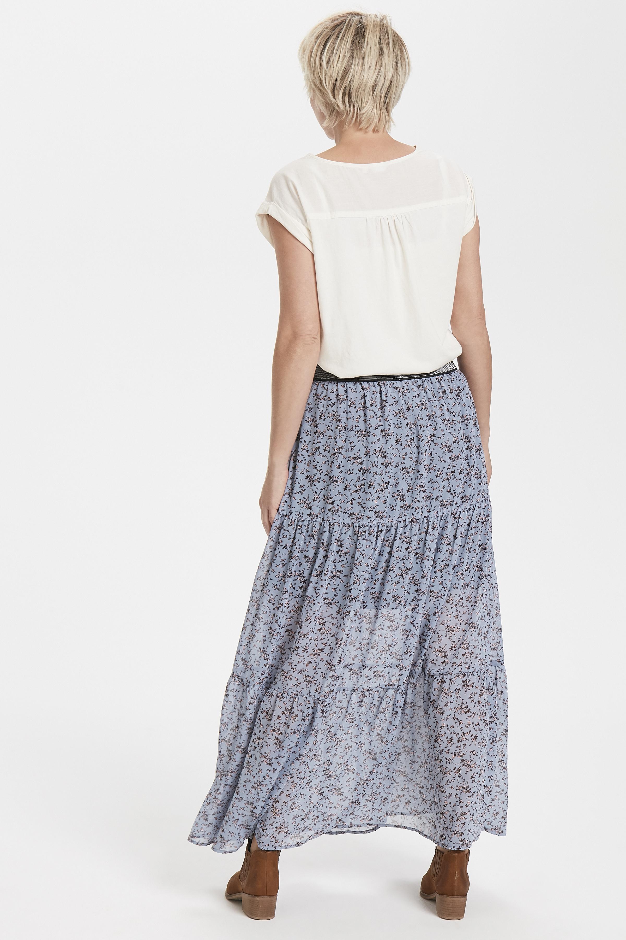 Creme Kortærmet bluse  fra Bon'A Parte – Køb Creme Kortærmet bluse  fra str. S-2XL her