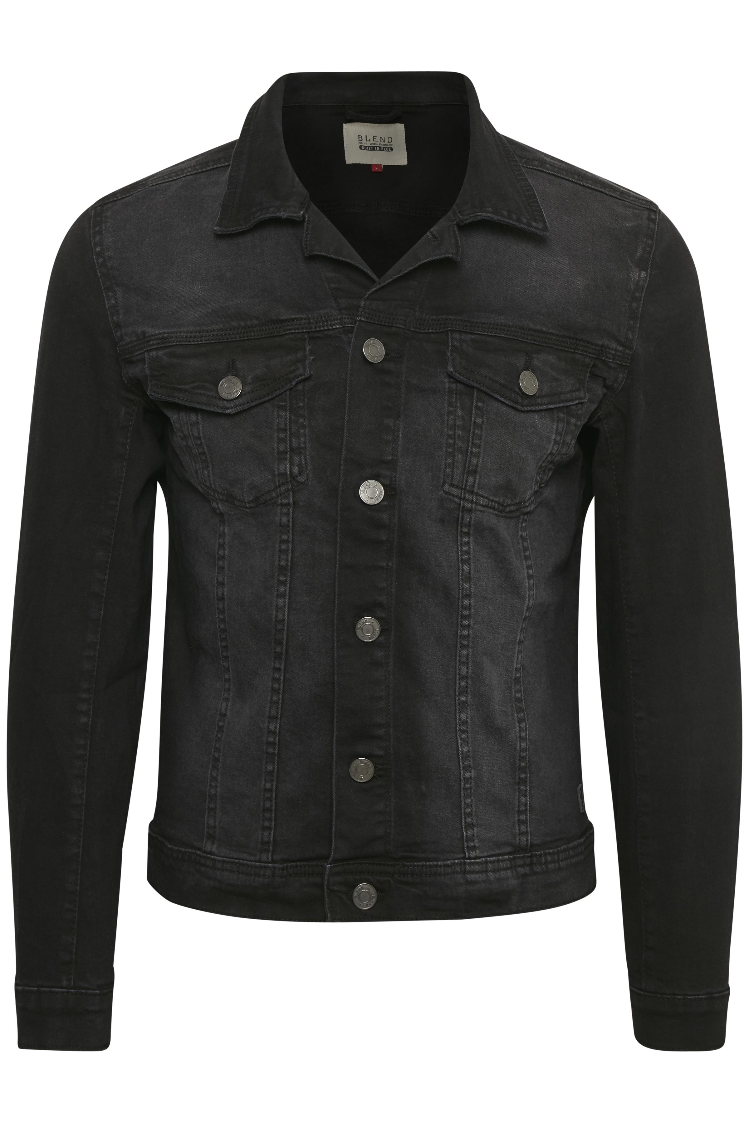 Blend He Herre Denim jakke - Denim Black