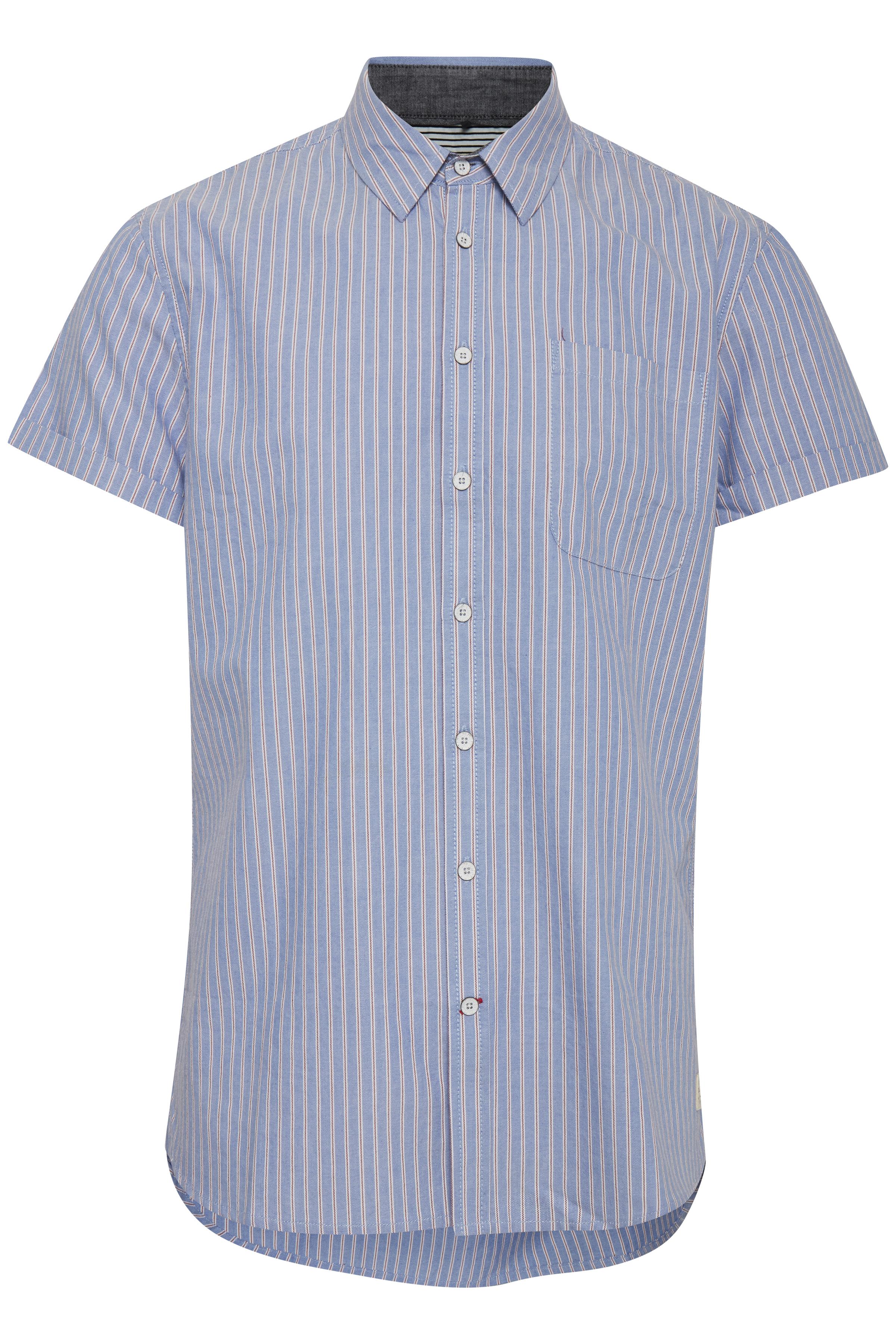 Image of   Blend He Herre Kortærmet skjorte - Denim Blue