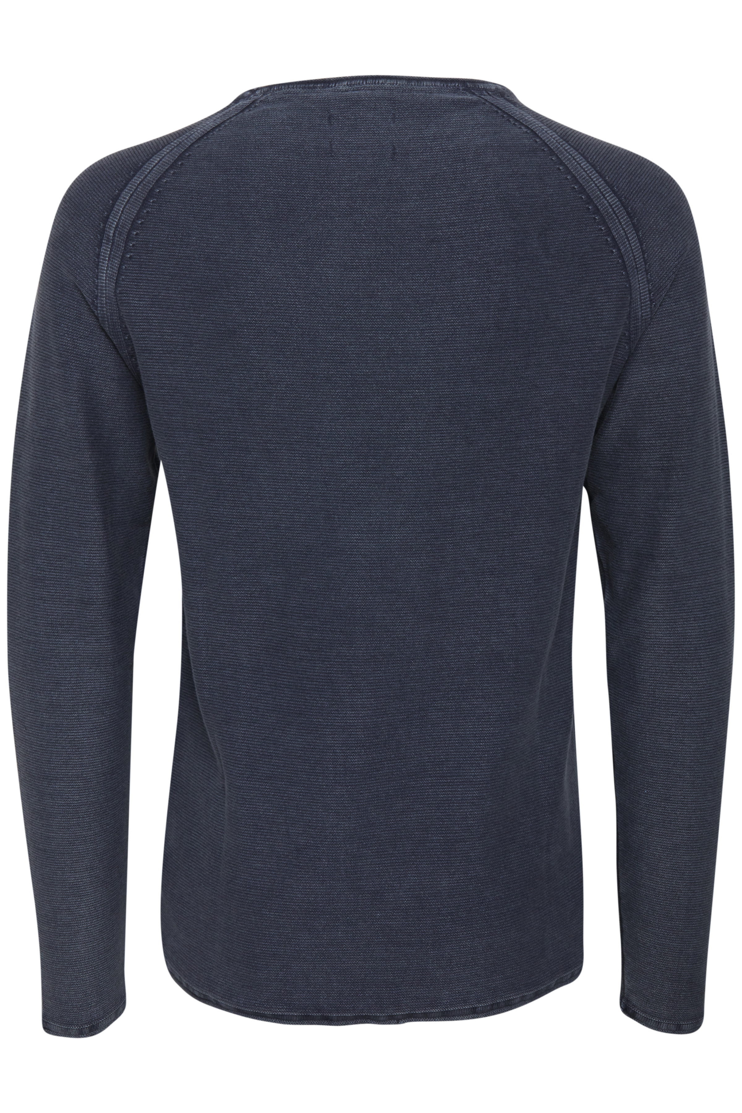 Denim Blue Strikpullover fra Blend He – Køb Denim Blue Strikpullover fra str. S-3XL her