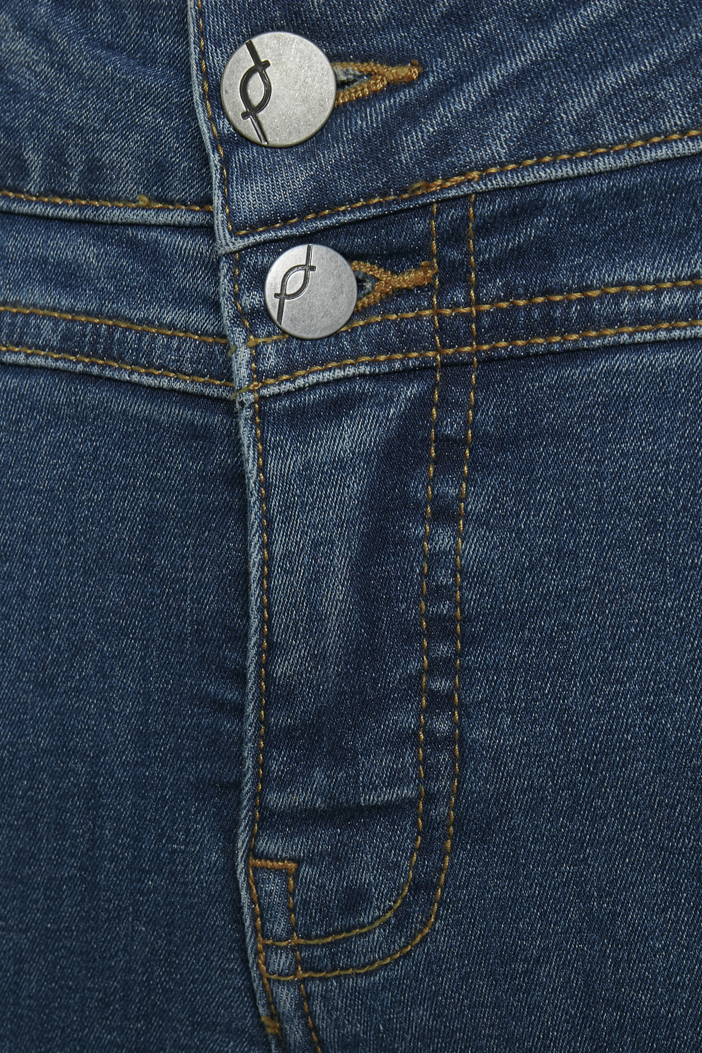 Denimblå Denimbuks fra Fransa – Køb Denimblå Denimbuks fra str. 32-46 her