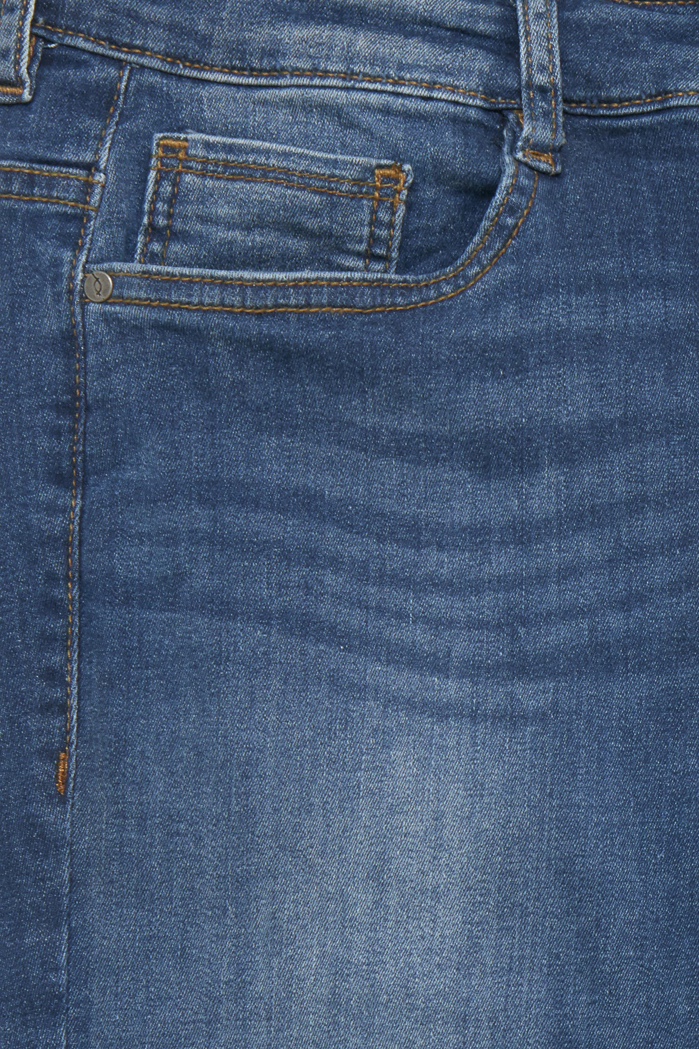 Denimblå Denimbyxa från Fransa – Köp Denimblå Denimbyxa från stl. 34-46 här