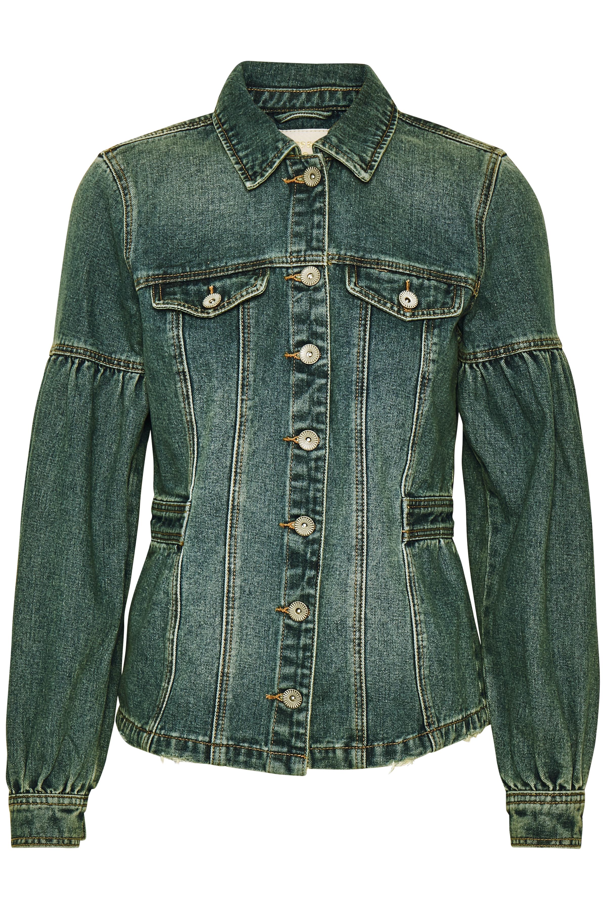 Cream Dame Denim jakke - Denimblå