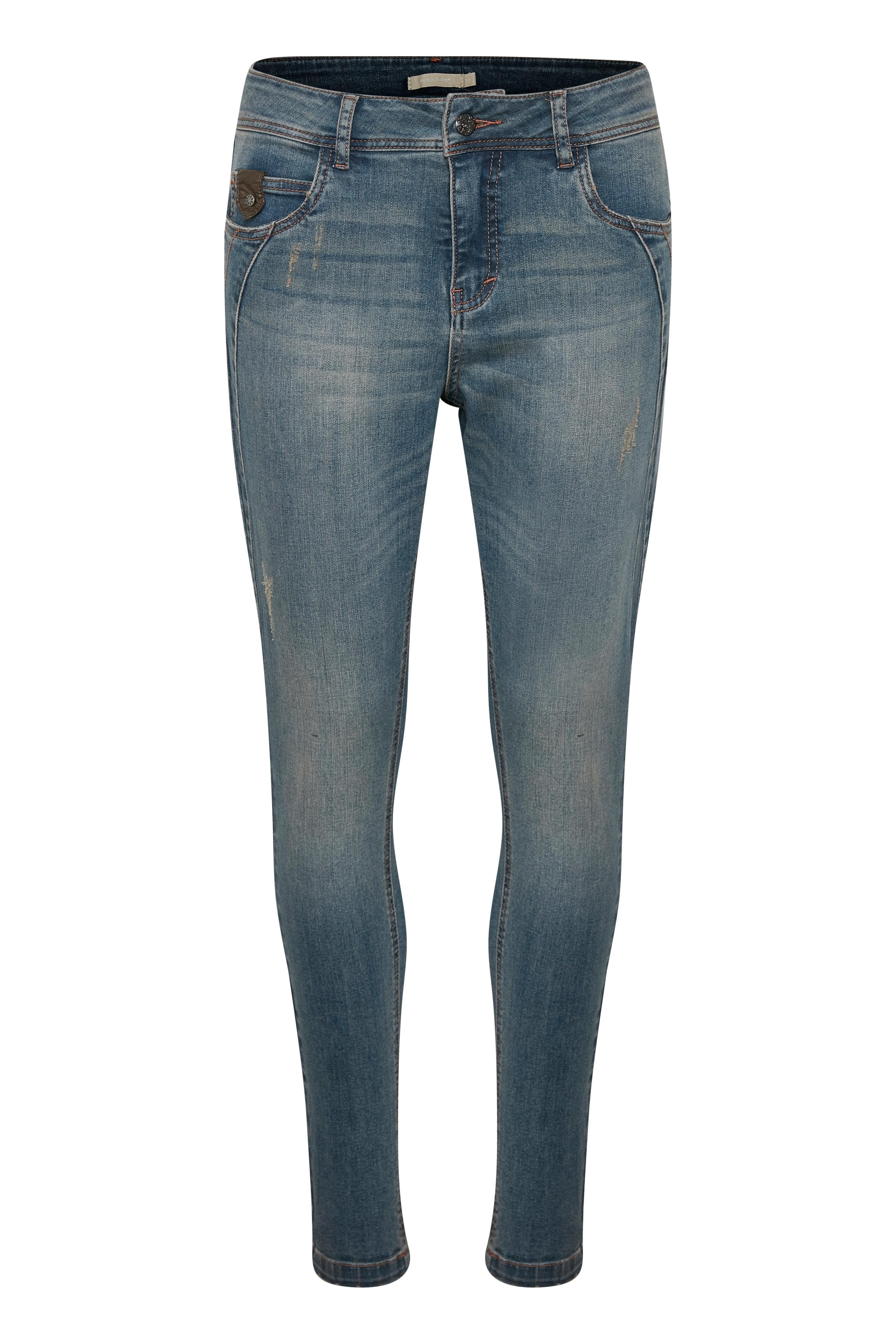 Denimblå Jeans fra Bon'A Parte – Køb Denimblå Jeans fra str. 36-48 her