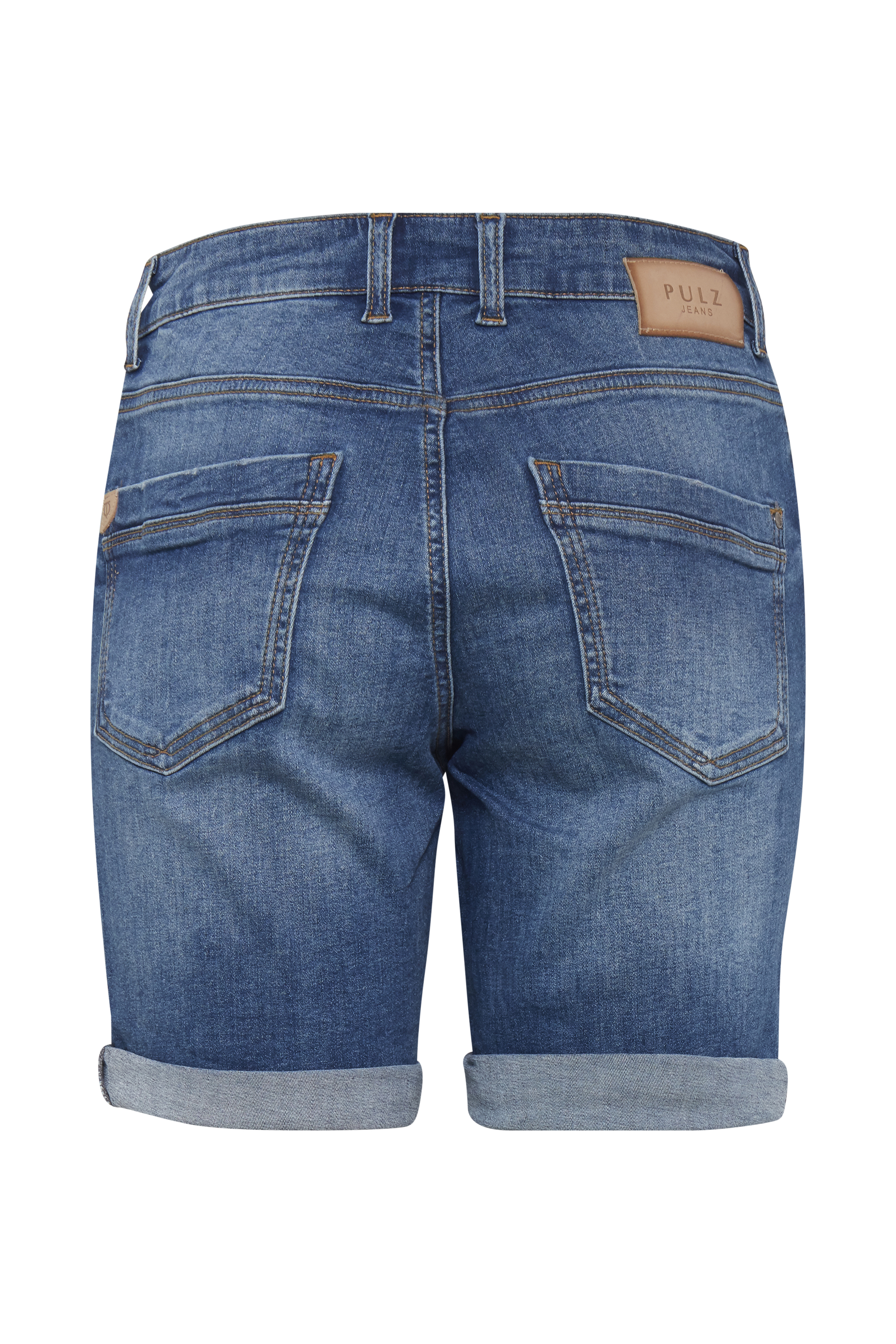 Denimblå Jeans fra Pulz Jeans – Køb Denimblå Jeans fra str. 25-35 her