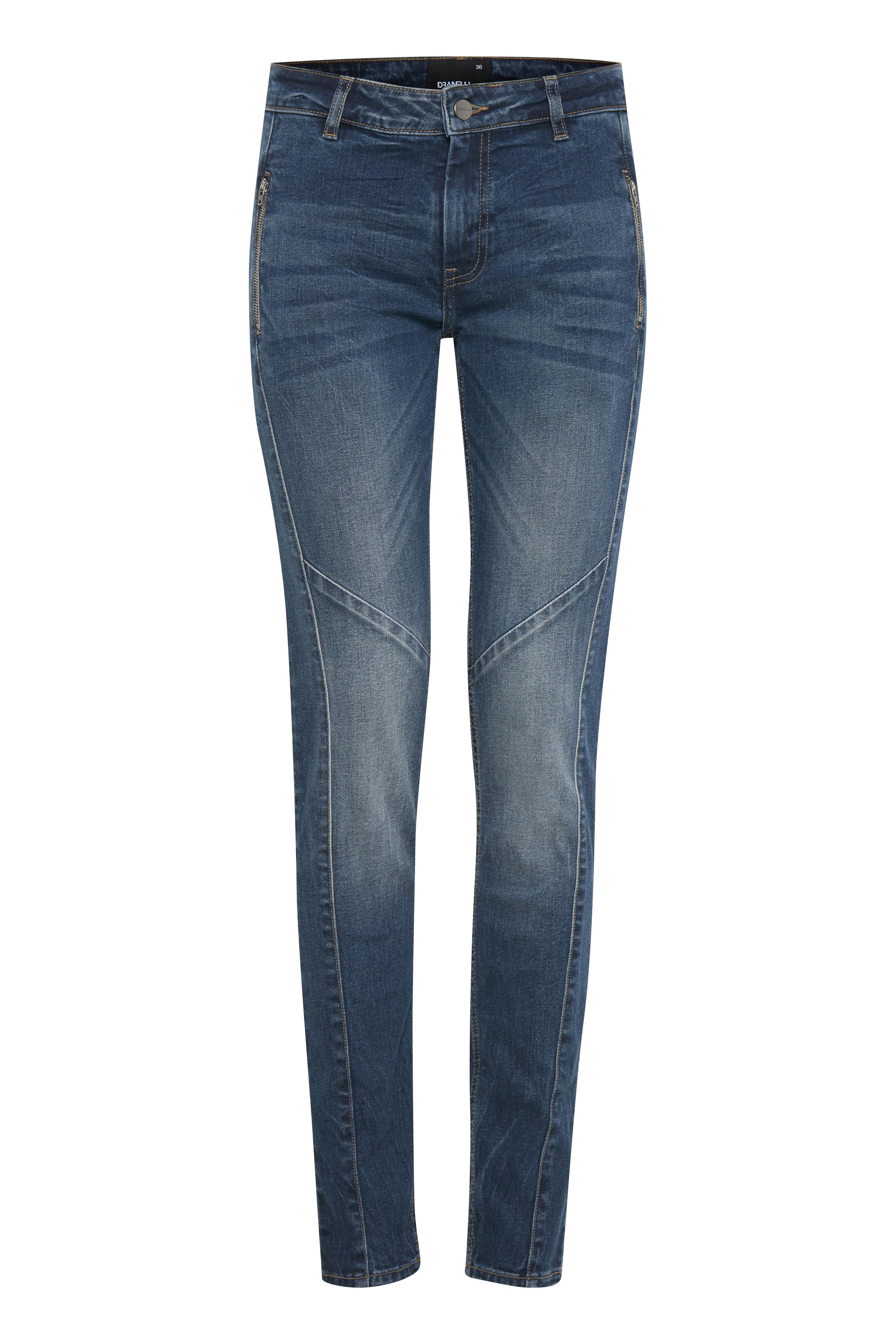 Denimblå Jeans fra Dranella – Køb Denimblå Jeans fra str. 32-46 her