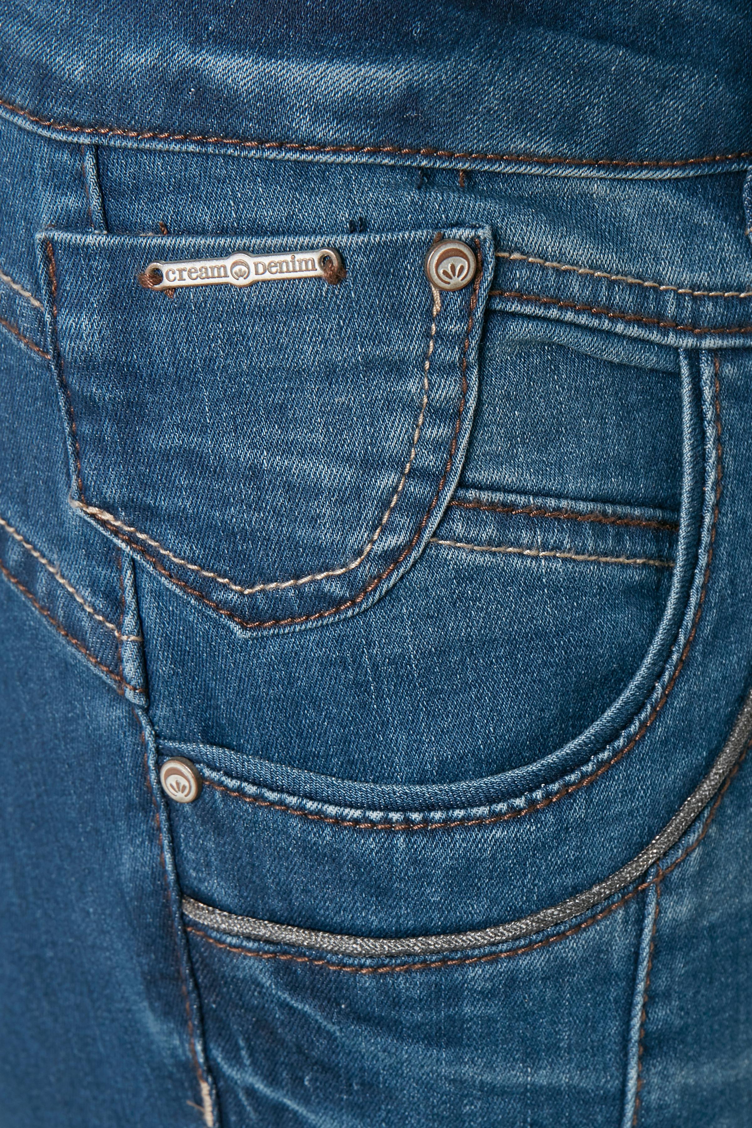 Denimblå Jeans fra Cream – Køb Denimblå Jeans fra str. 25-34 her