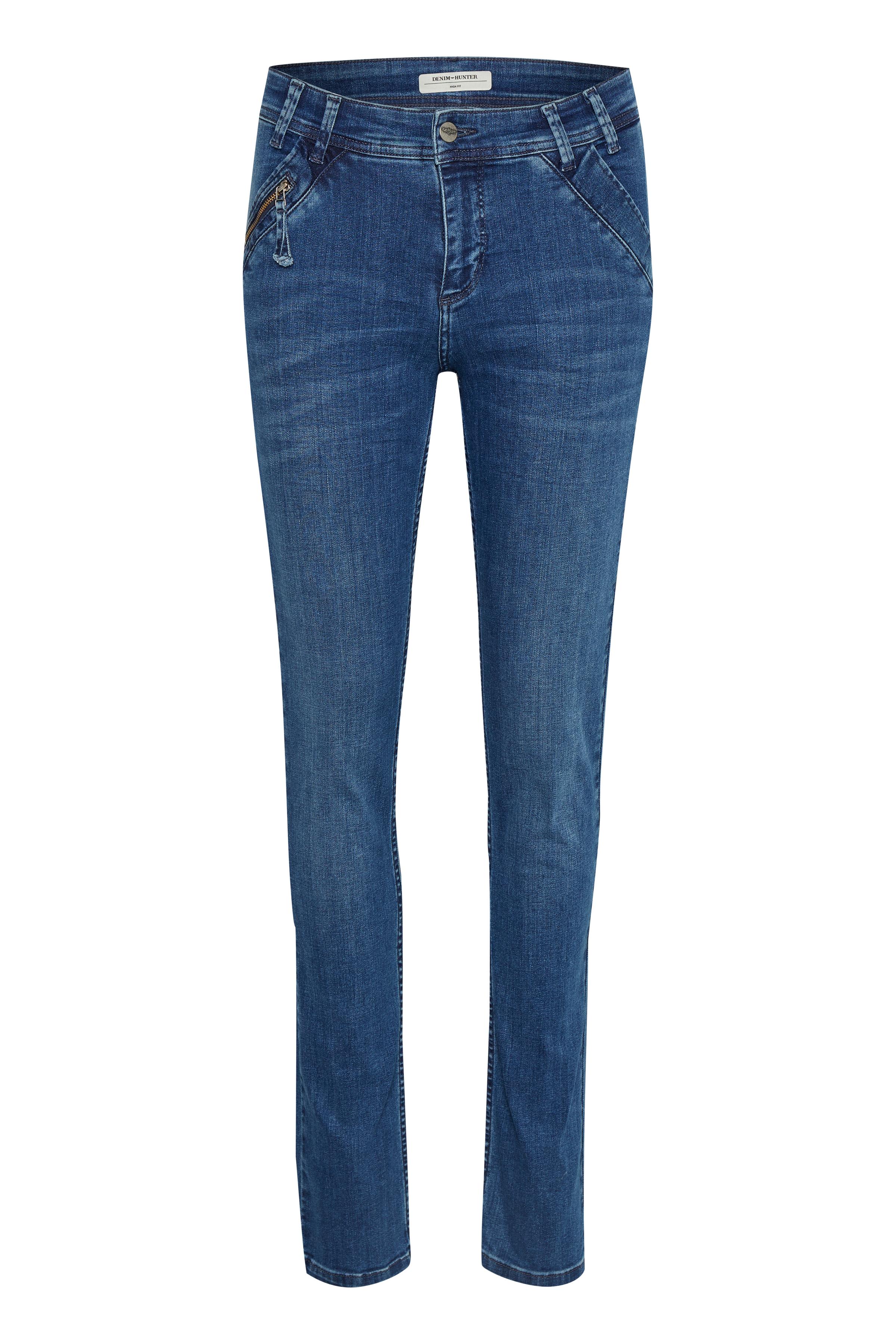 Image of Denim Hunter Dame Cape High jeans - Denimblå