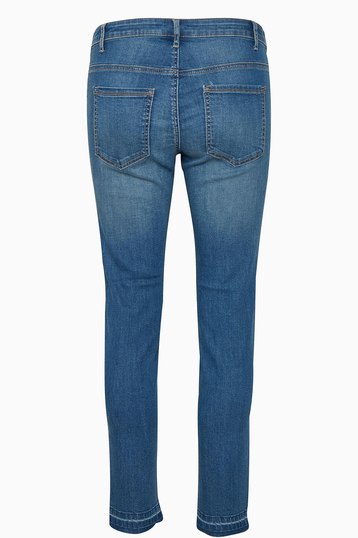 Denimblå Jeans fra Kaffe – Køb Denimblå Jeans fra str. 34-46 her